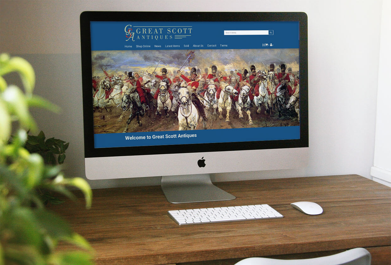 Web Design for Militaria Dealers