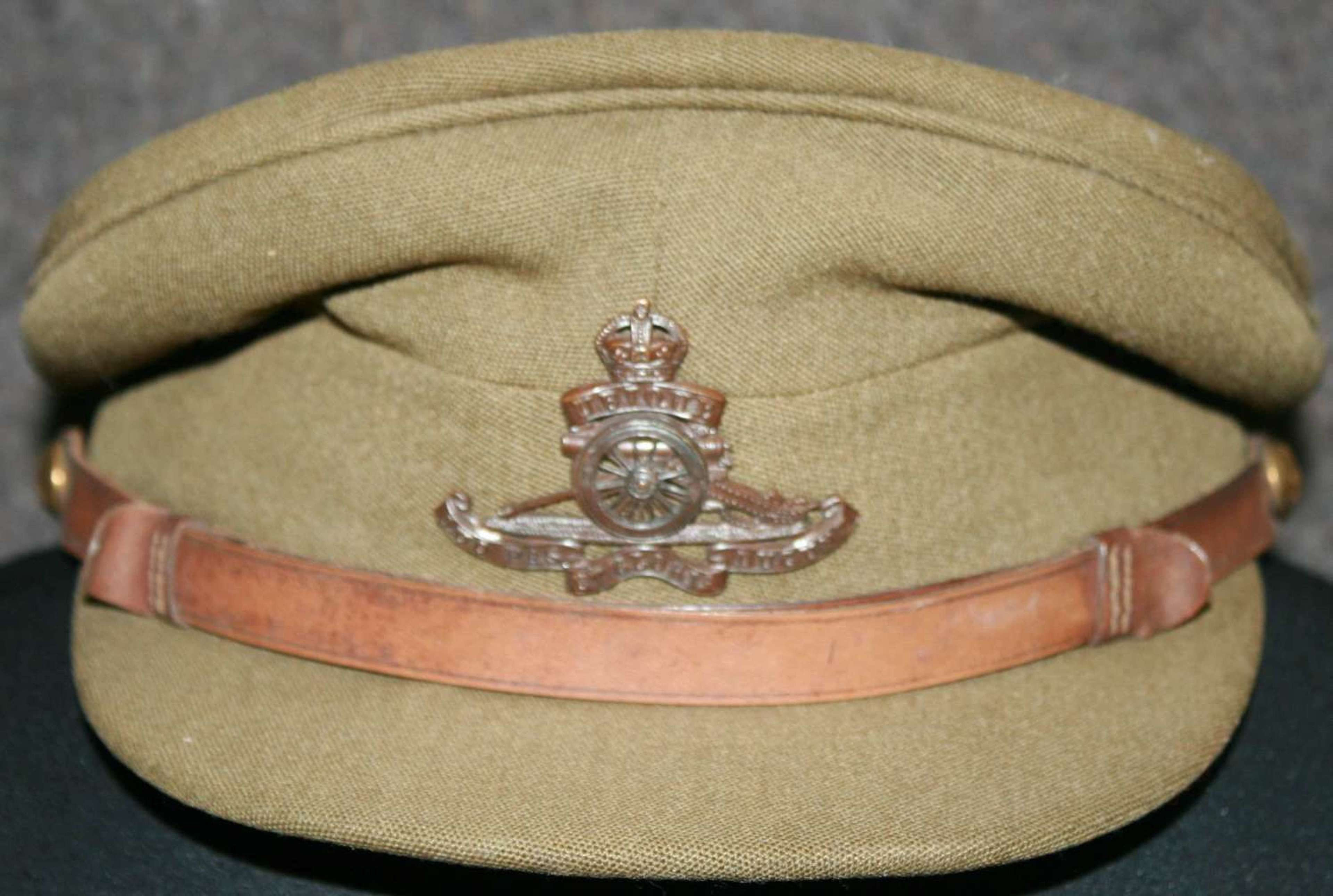 A WWII PERIO DRA OFFICERS CAP