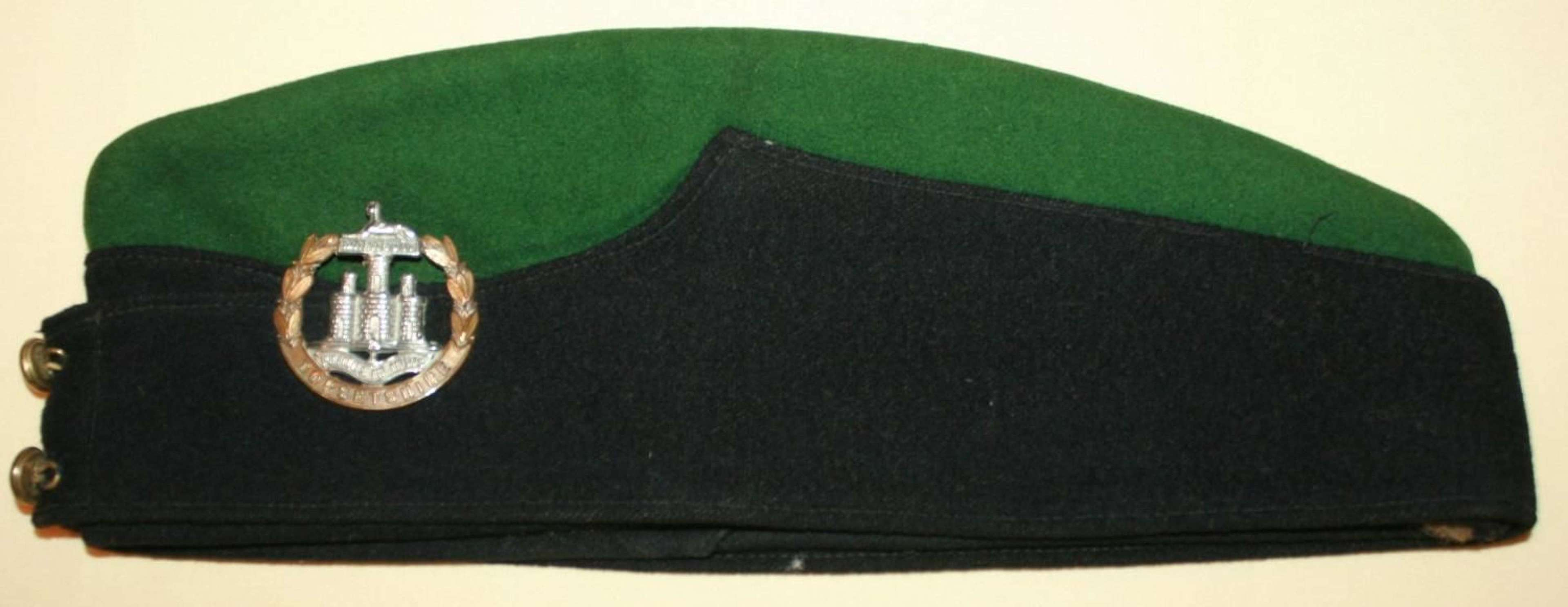 A WWII PERIOD OTHER RANKS DORSET'S SIDE CAP