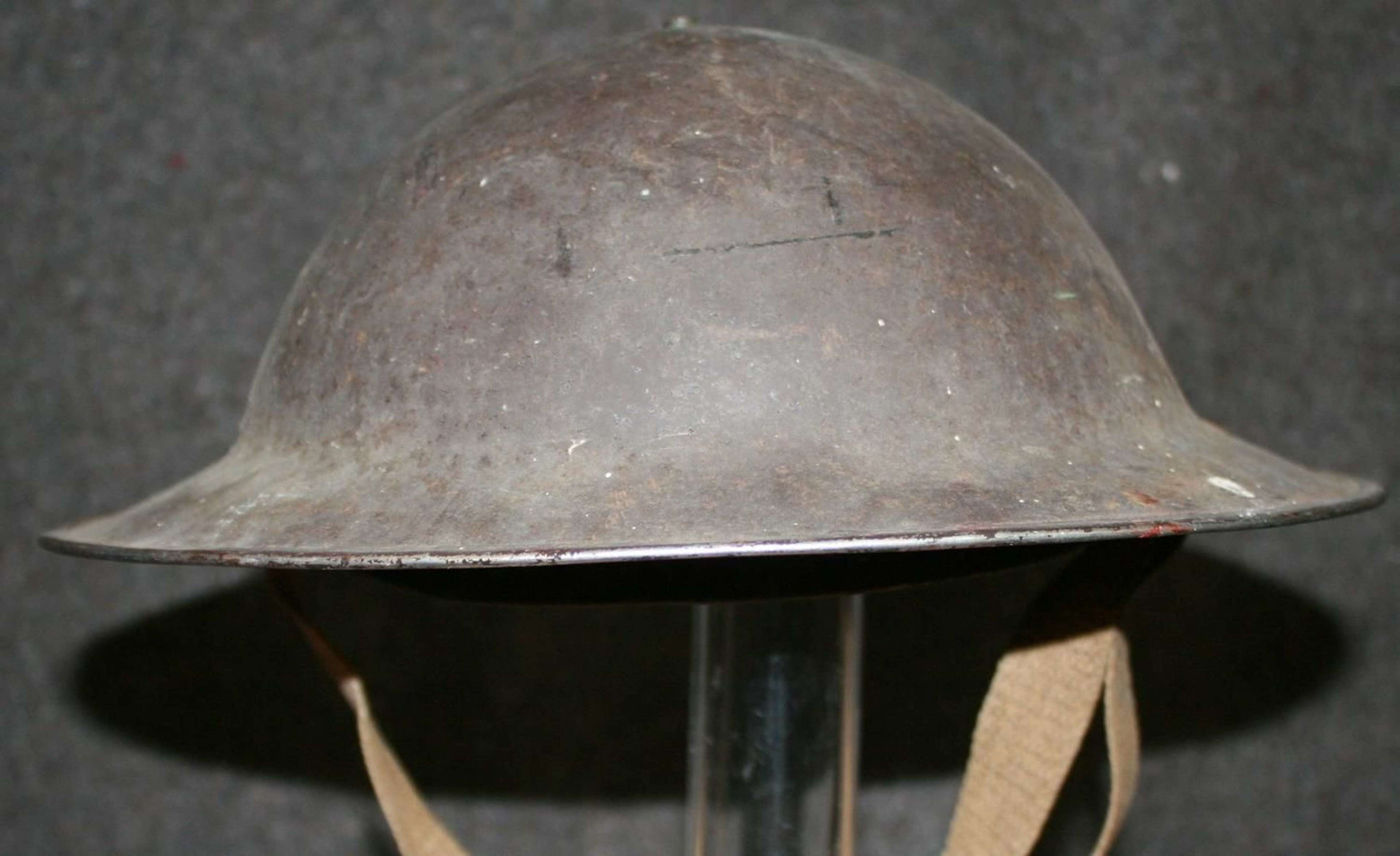 A WWII SOUTH AFRICAN HELMET
