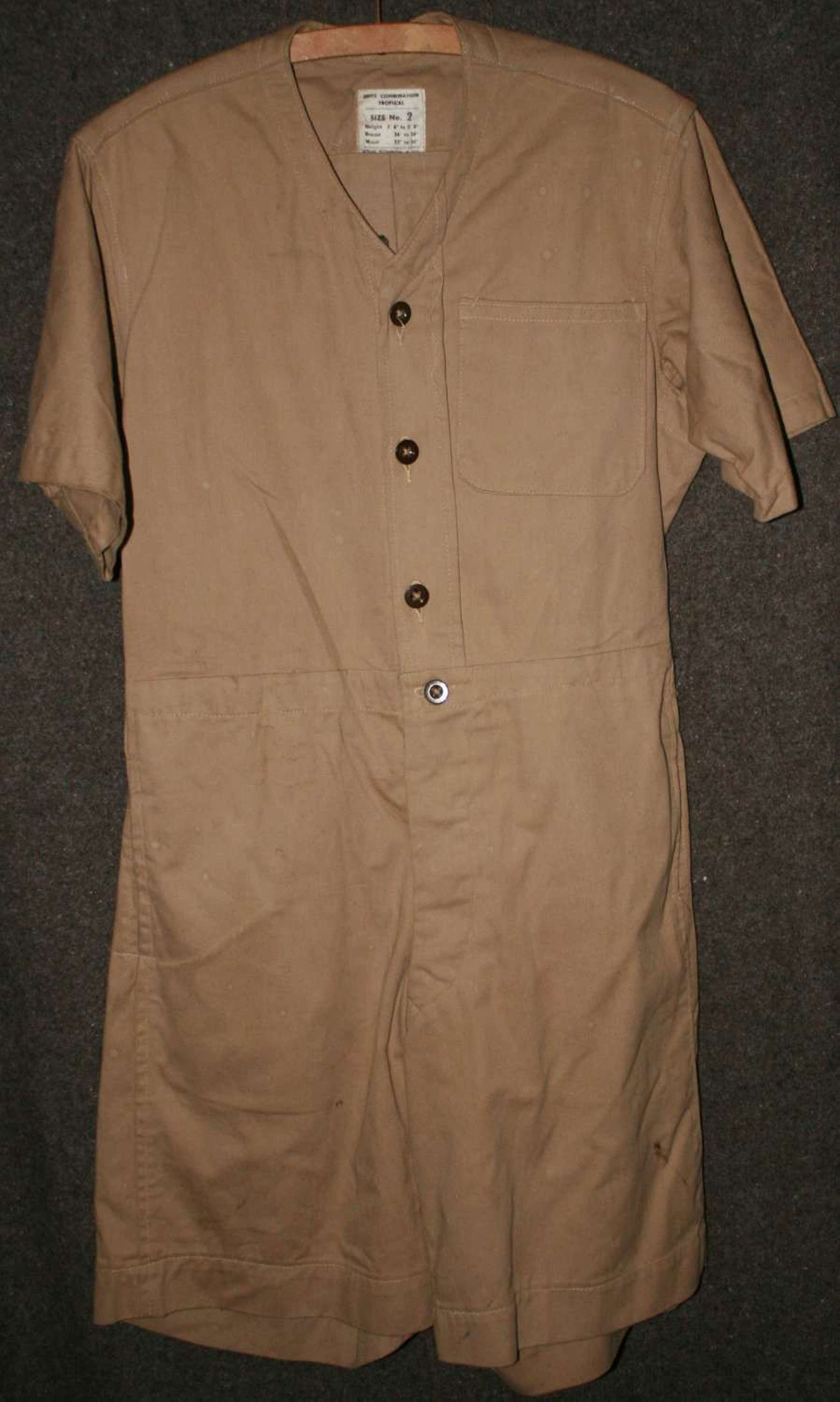 A WWII SUITES TROPICAL COMBINATION SIZE 2