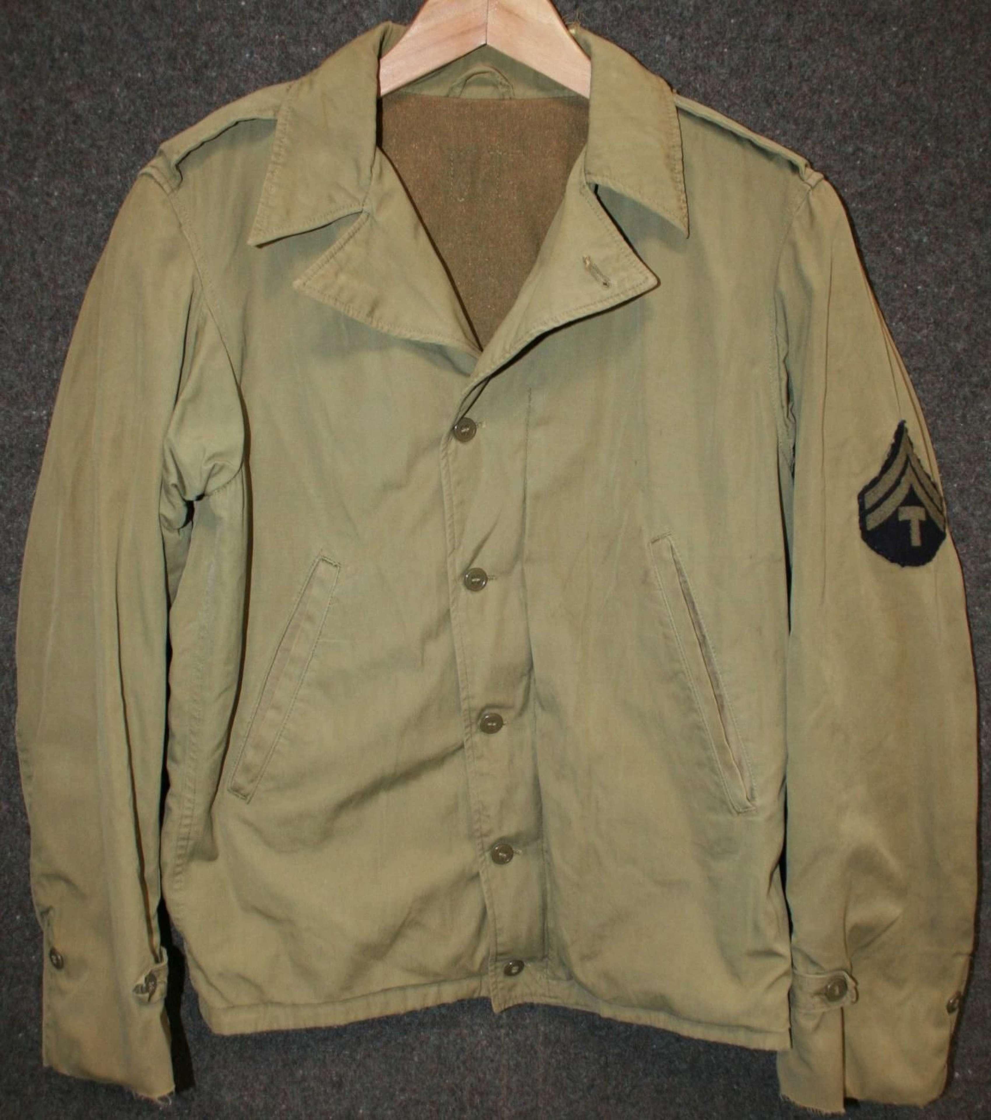 A WWII US ARMY M1941 JACKET