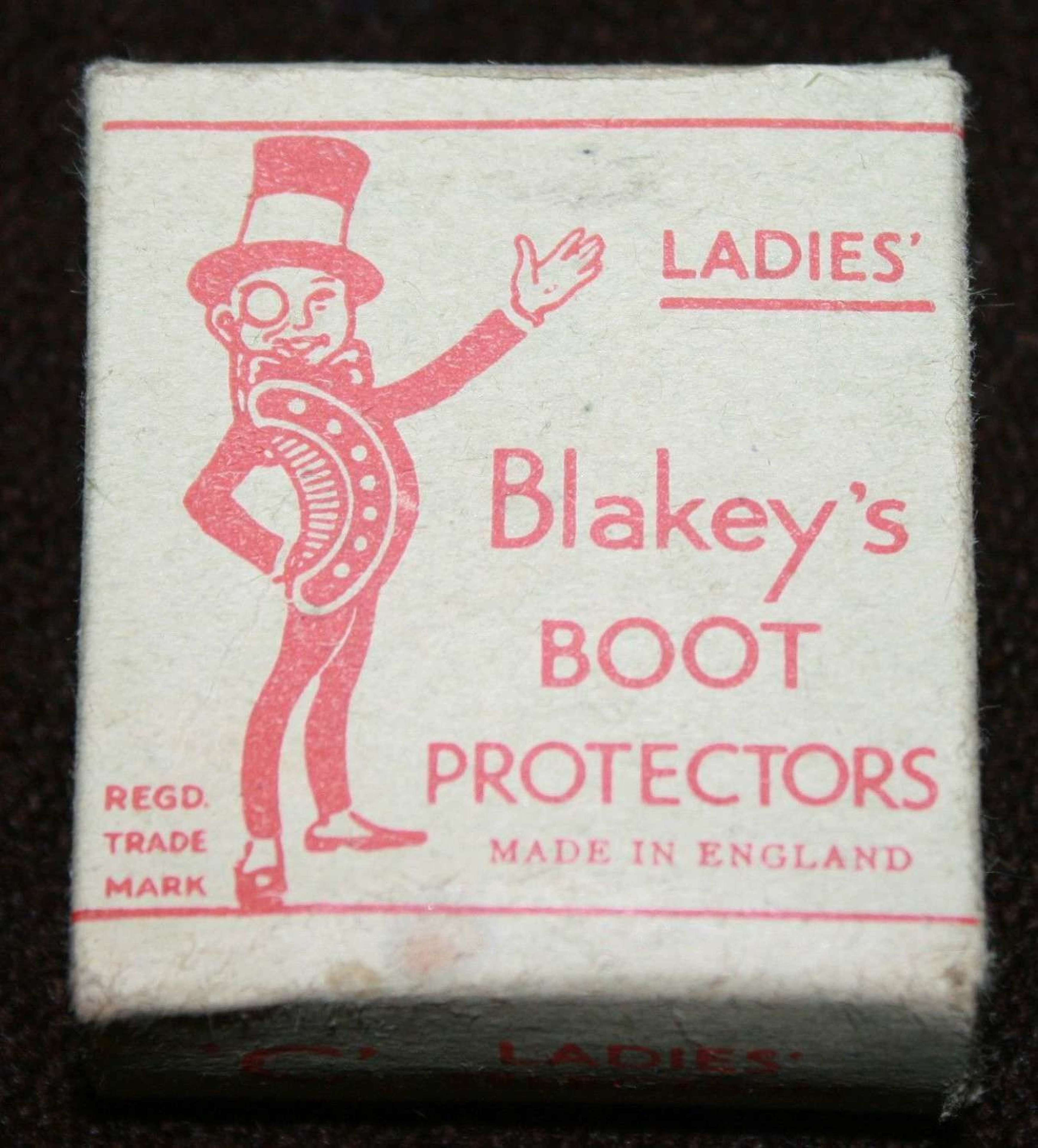 WWII WAR TIME PACK OF LADIES SHOE / BOOT PROTECTORS