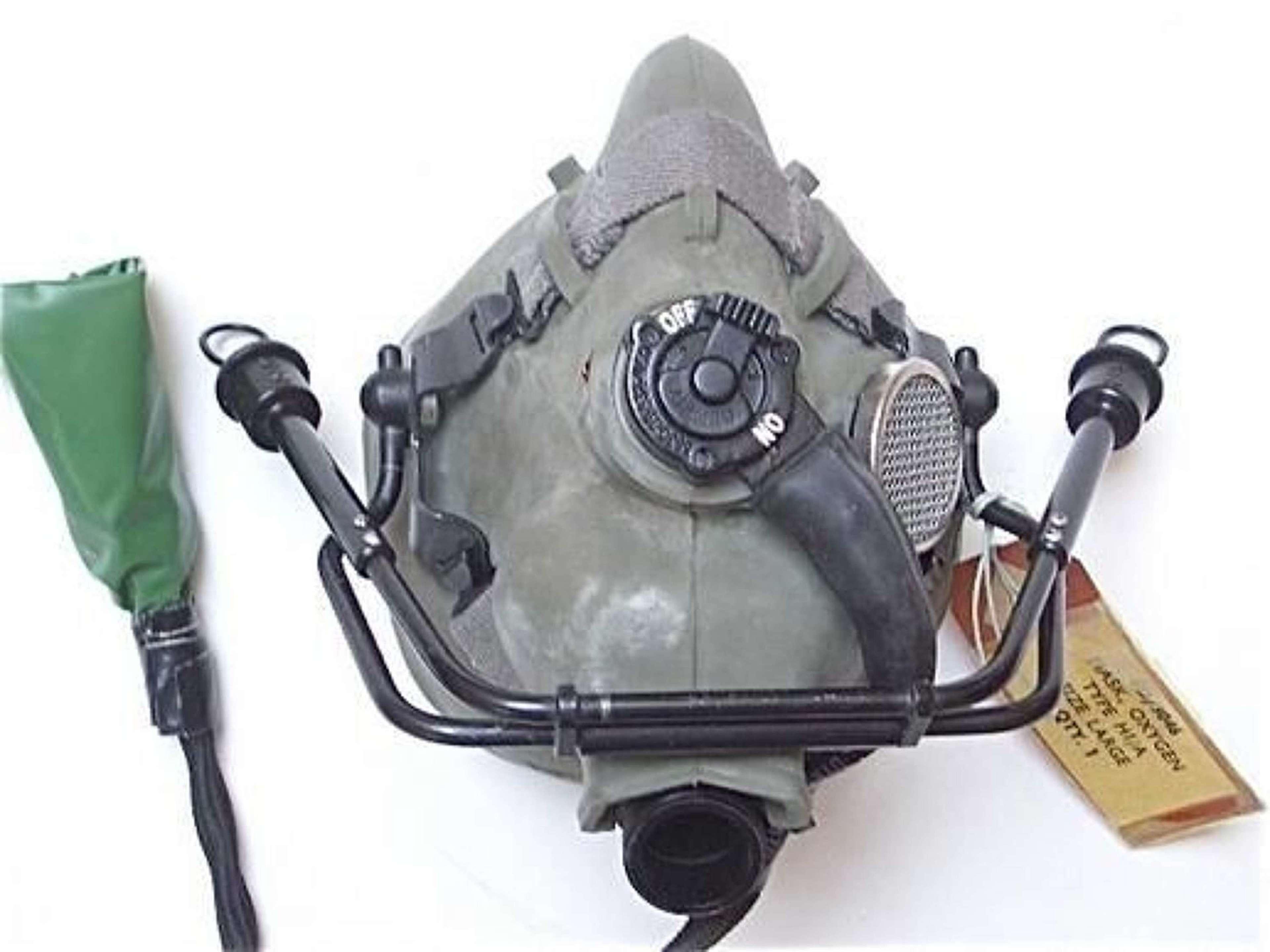 RAF Cold War Period Rare Type H1/A Oxygen Mask