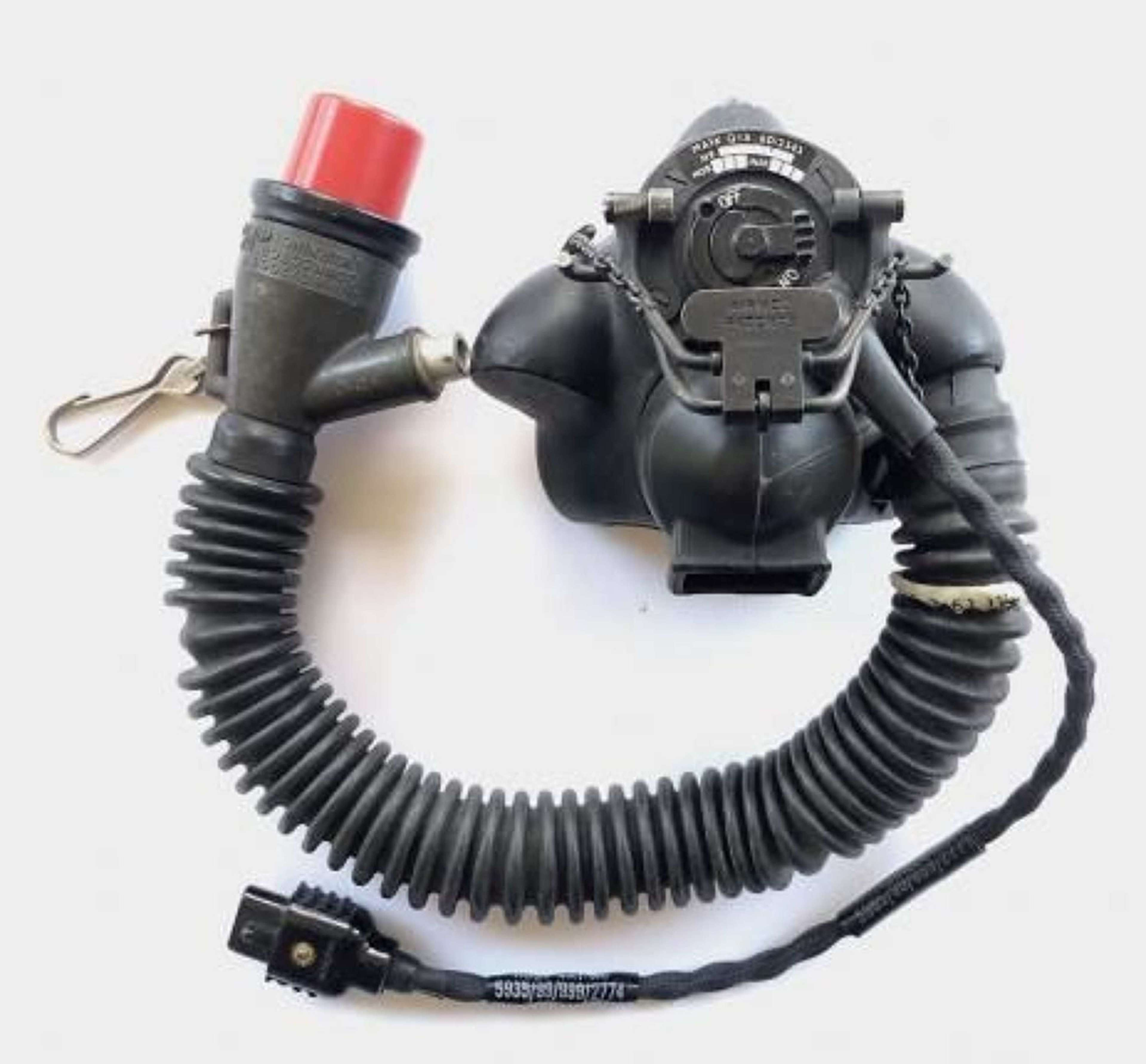 RAF Cold War Period P14 Oxygen Mask
