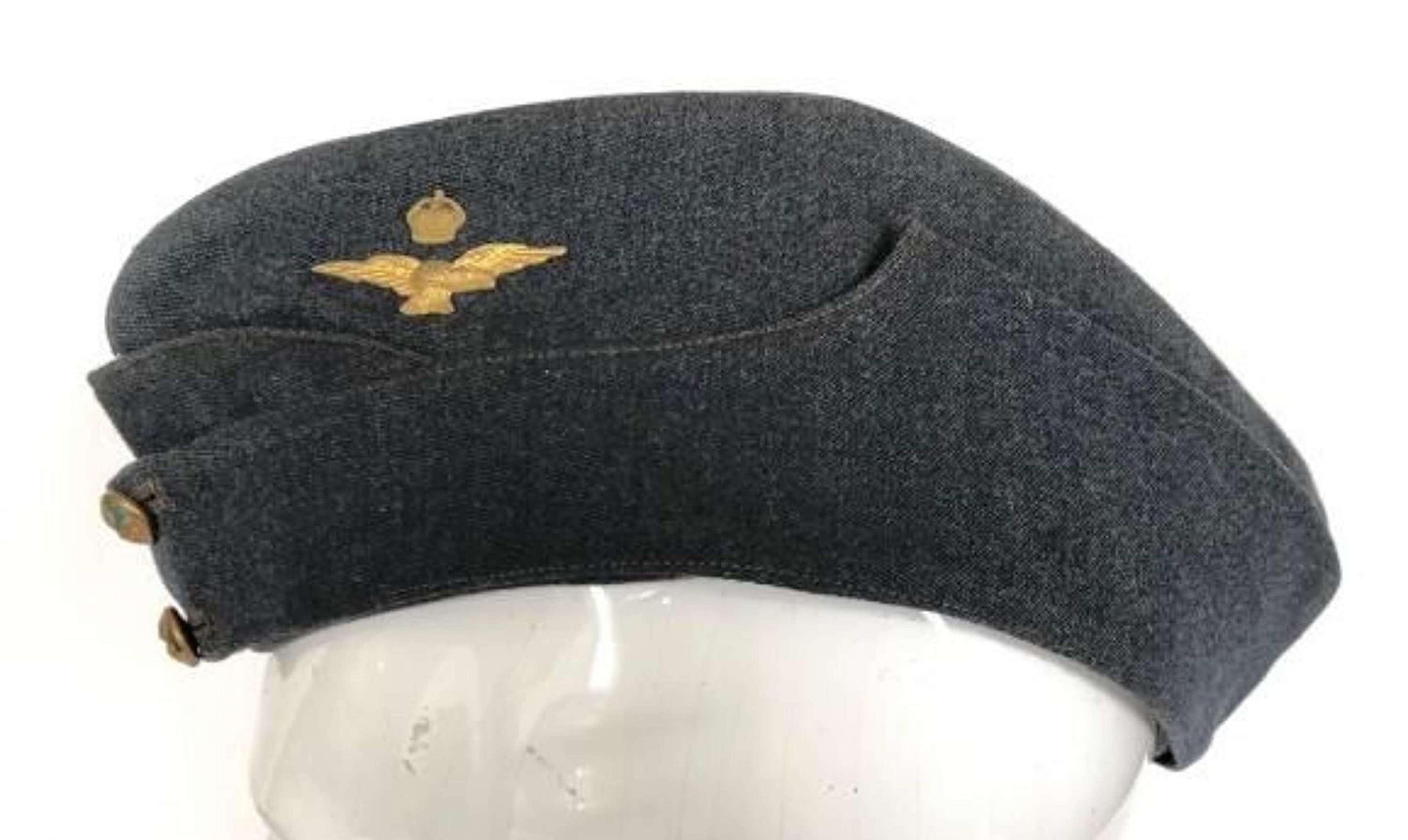 RAF Inter War, Early WW2 Officer's Side Cap.