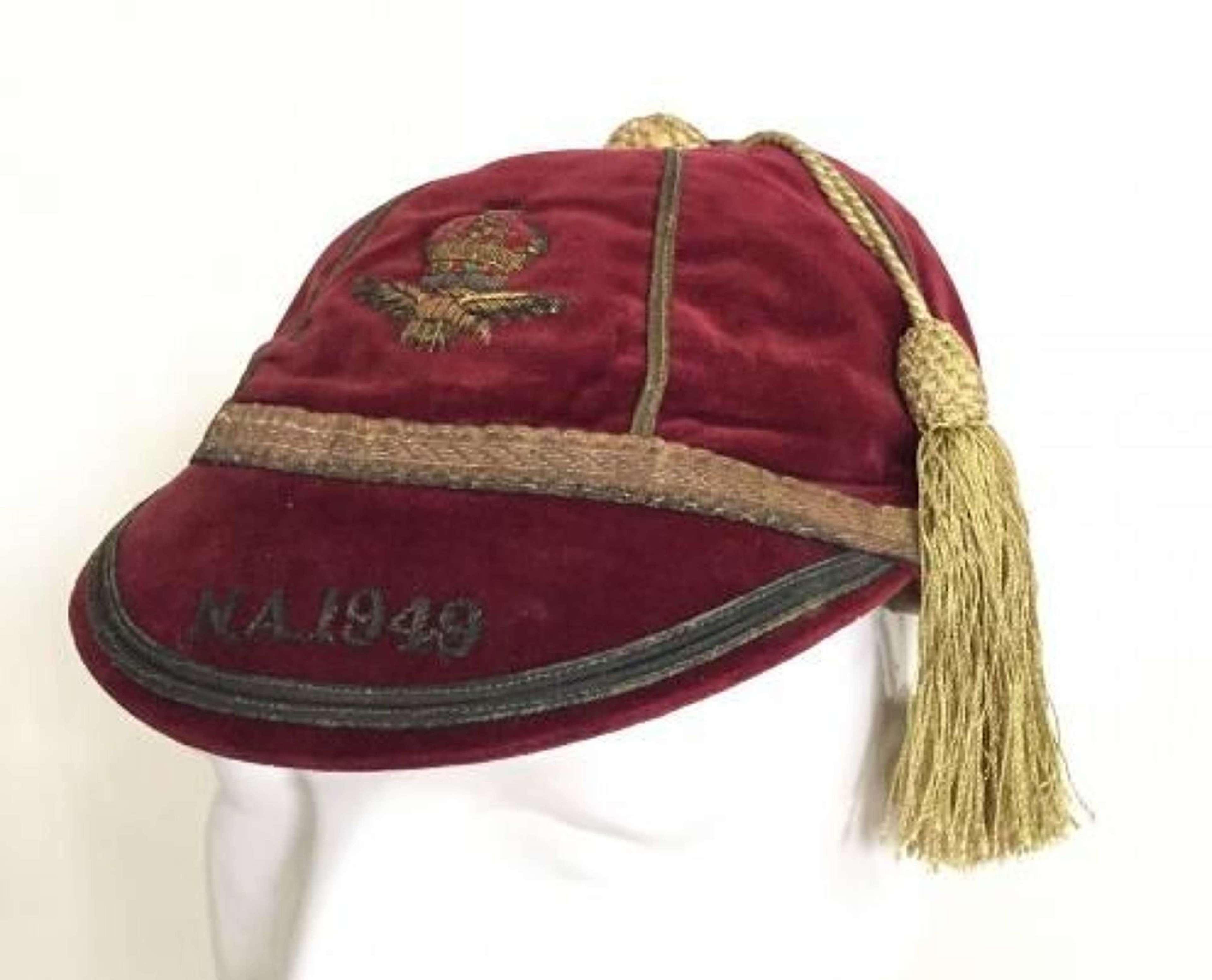 RAF Sports Cap 1949.