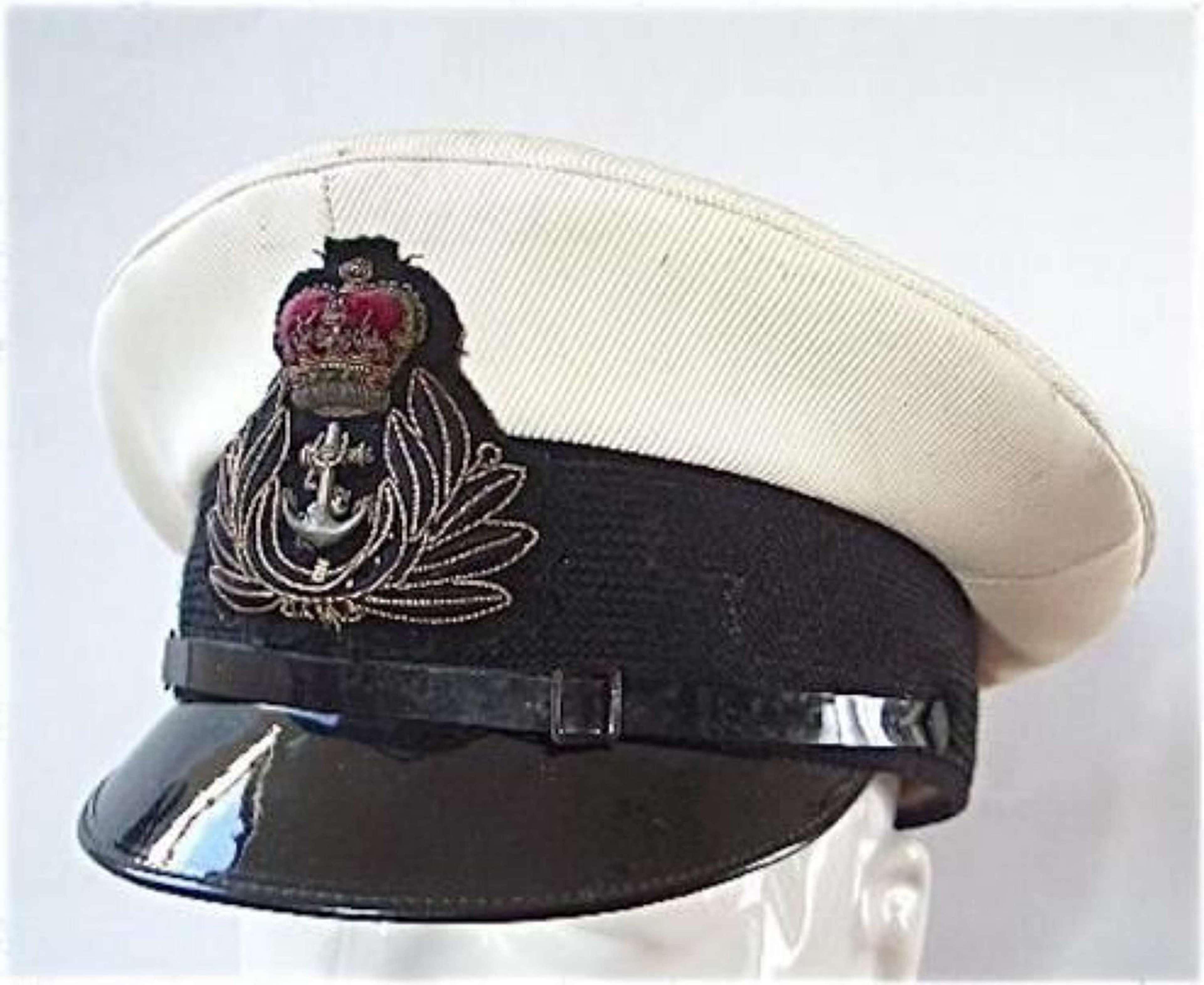 Royal Navy Chaplains Department Officers Cap.