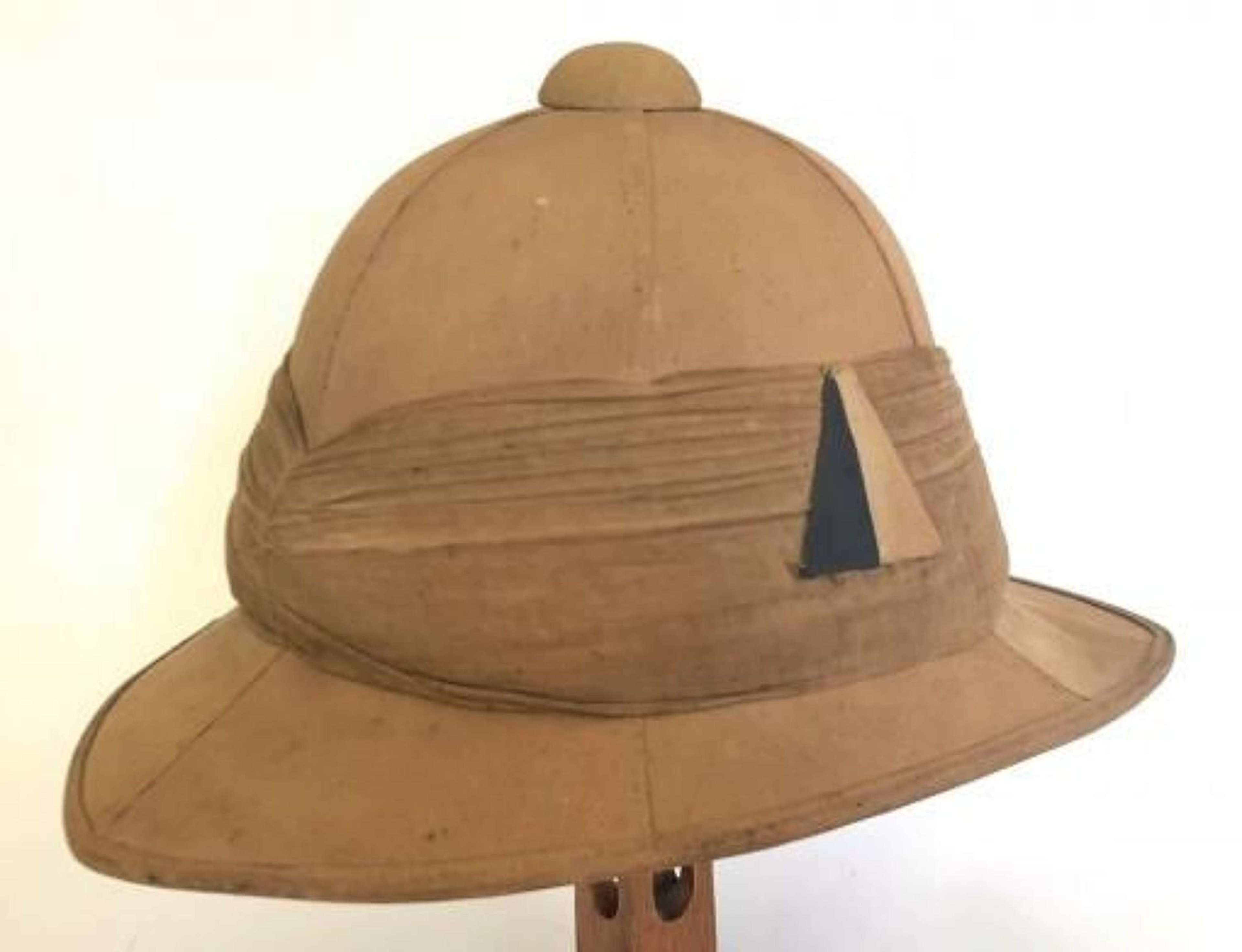 WW1 Army Service Corps 1915 Other Rank's Wolseley Pattern Sun Helmet