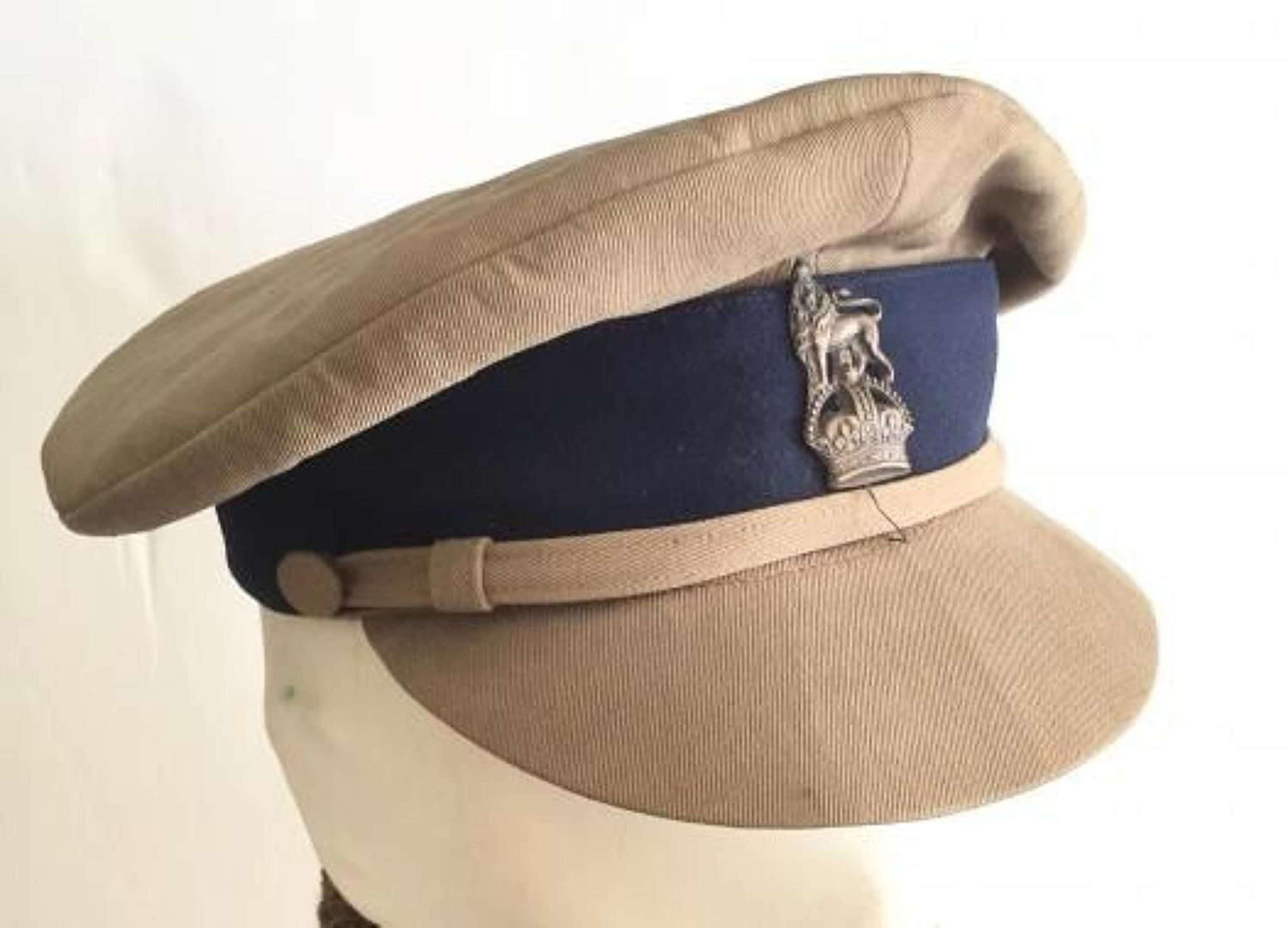 WW1 Middle East Ordnance Staff Officer Cap.