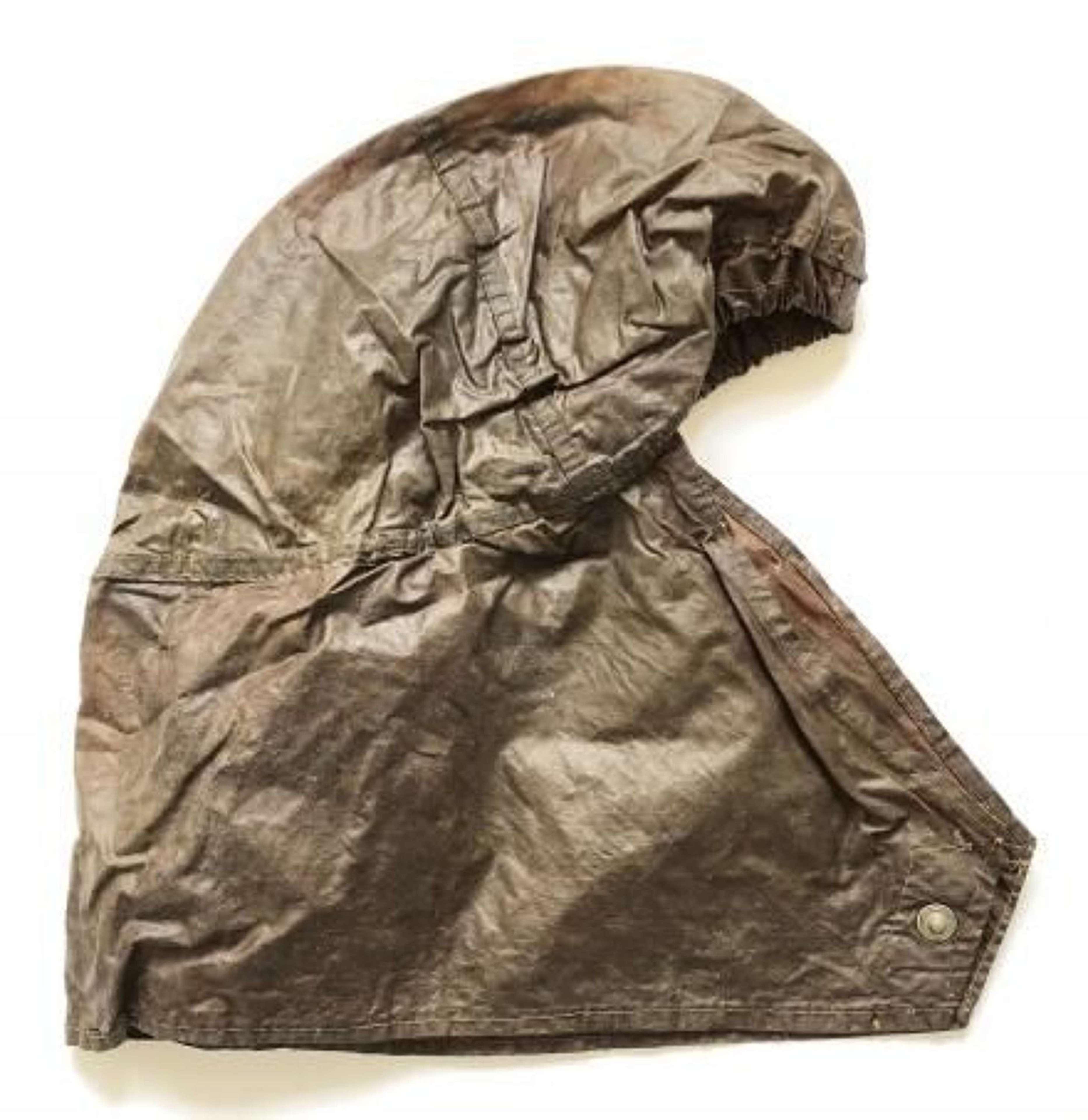 WW2 British Anti Gas Helmet Cover.