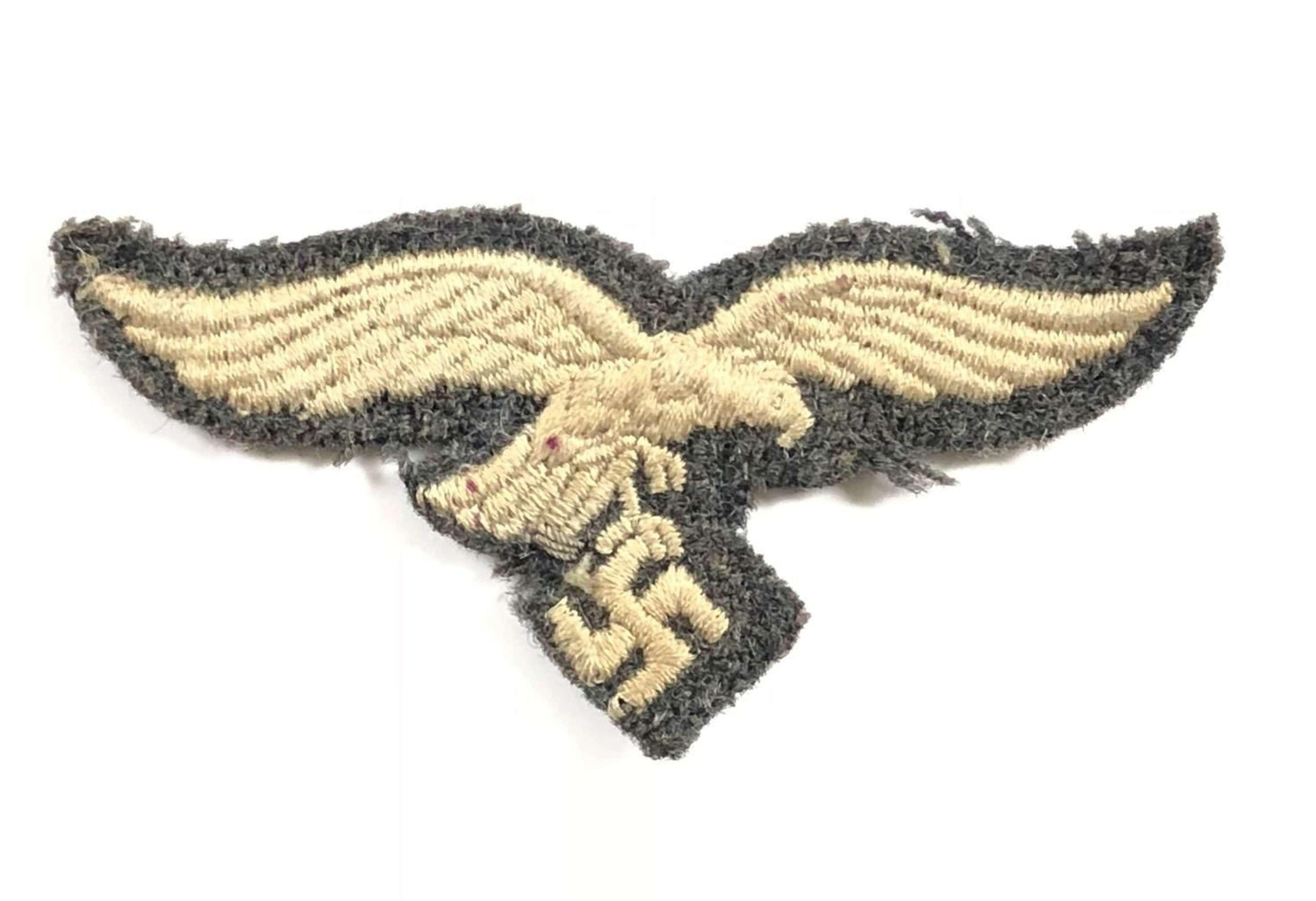 WW2 Luftwaffe Side Cap Eagle.