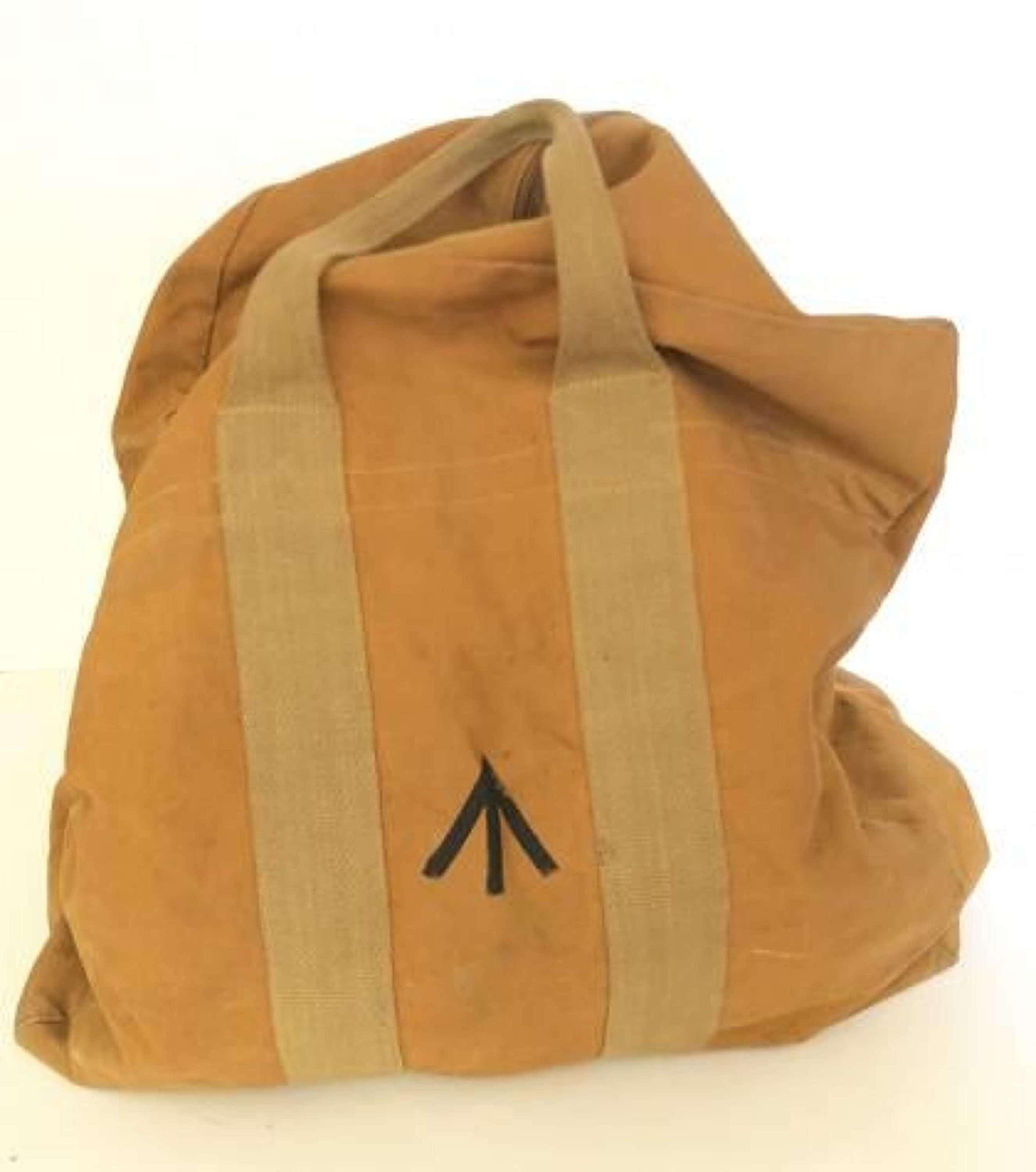 WW2 Pattern RAF Aircrew Parachute Bag.