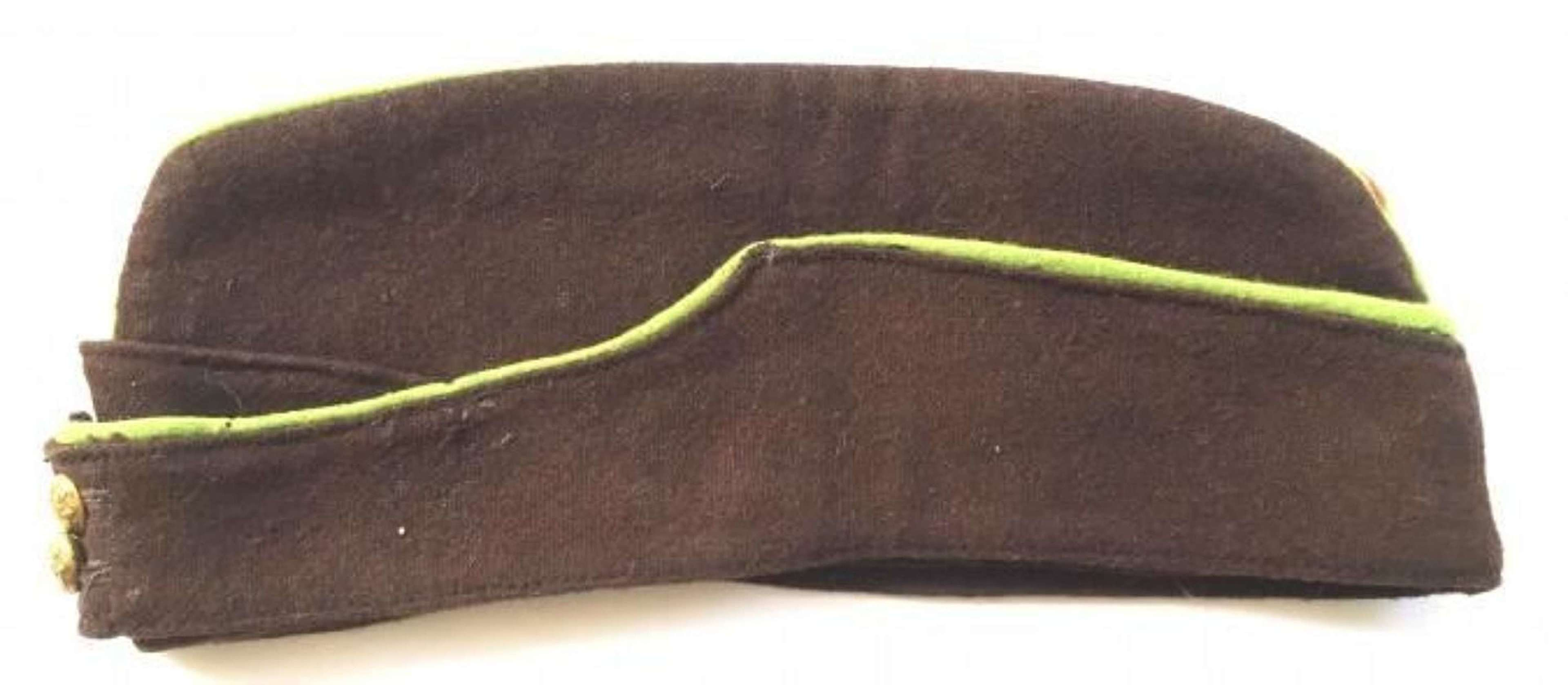 WW2 Period ATS Other Ranks Cap.