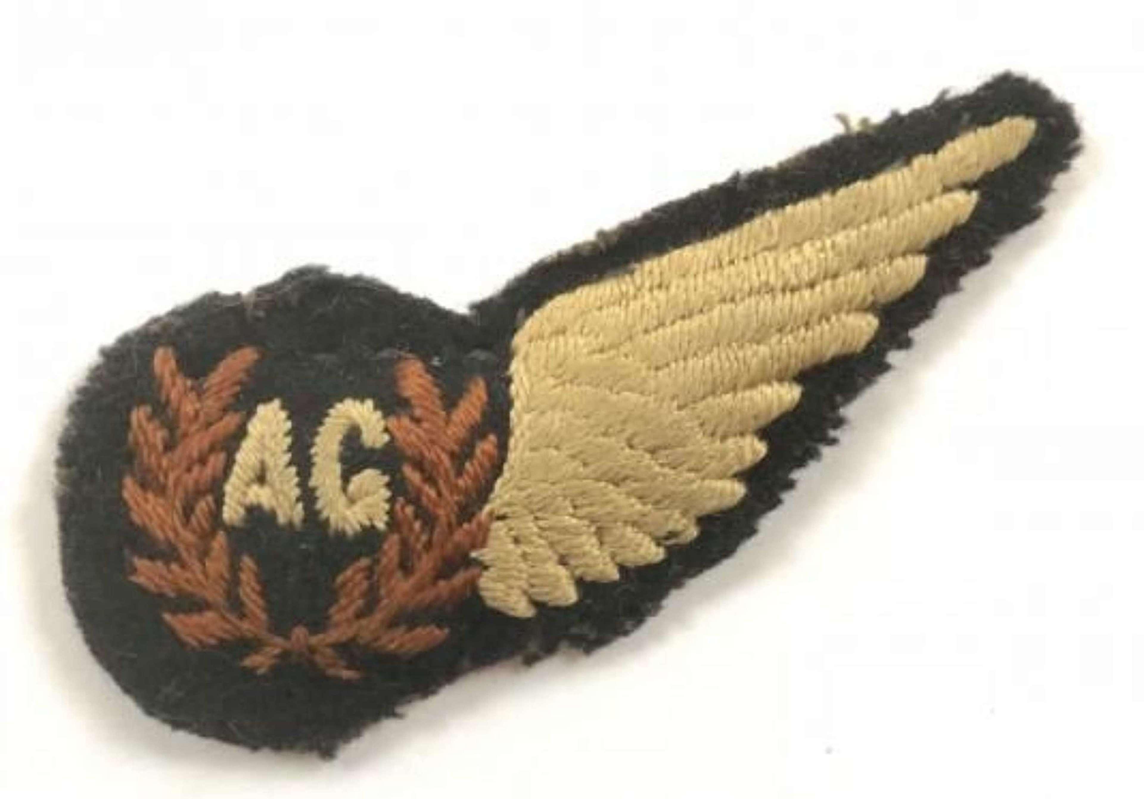WW2 Period RAF Air Gunners Brevet.