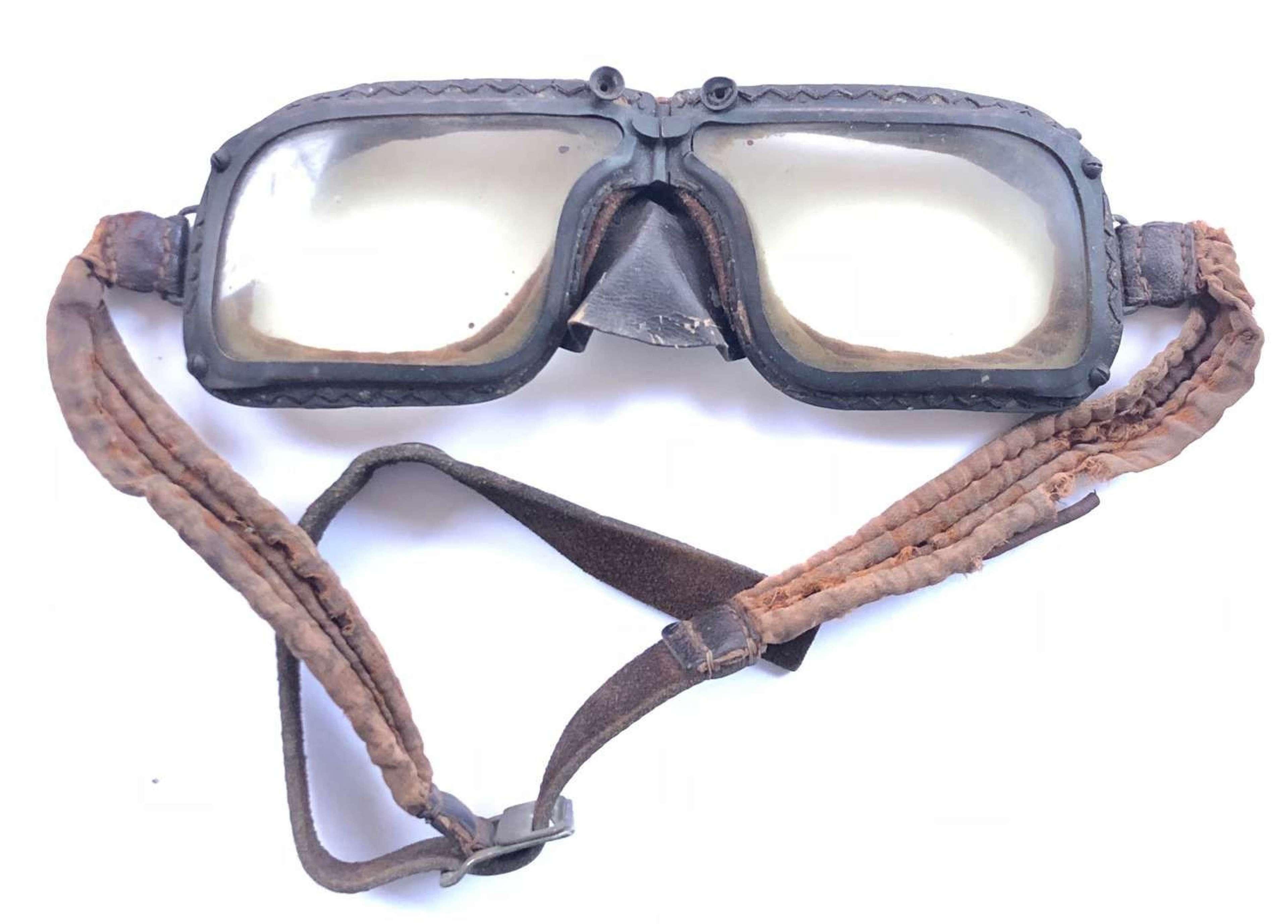 WW2 RAF Battle of Britain Pattern MKIII Flying Goggles.