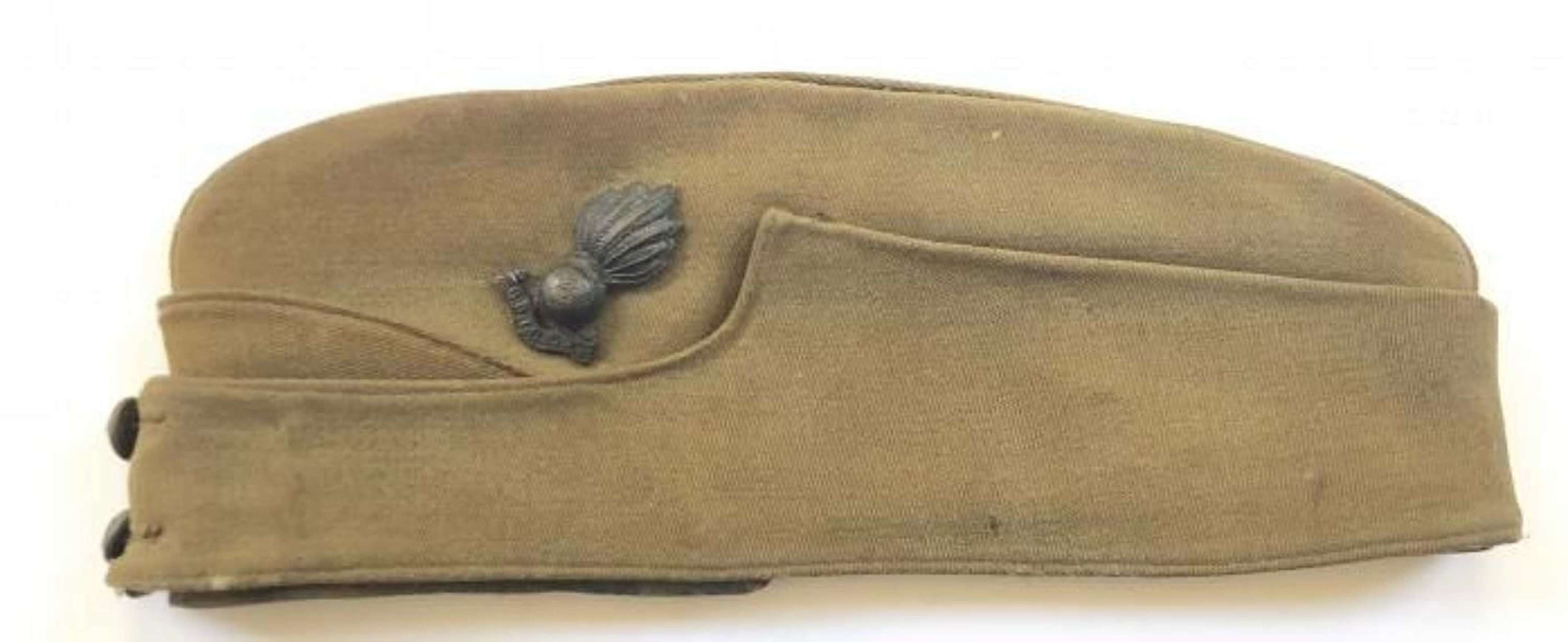 WW2 Royal Artillery Officer's Side Cap.