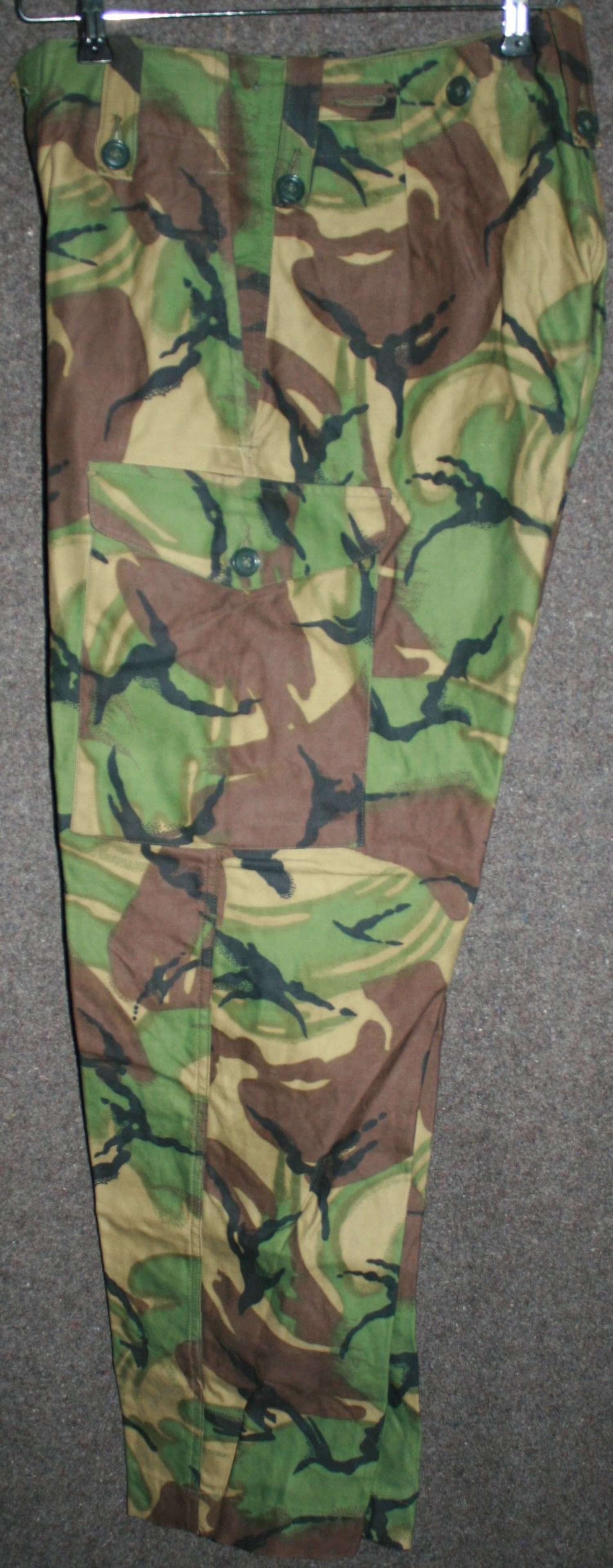 A VERY GOOD PAIR OF 68 PATTERN DPM TROUSERS