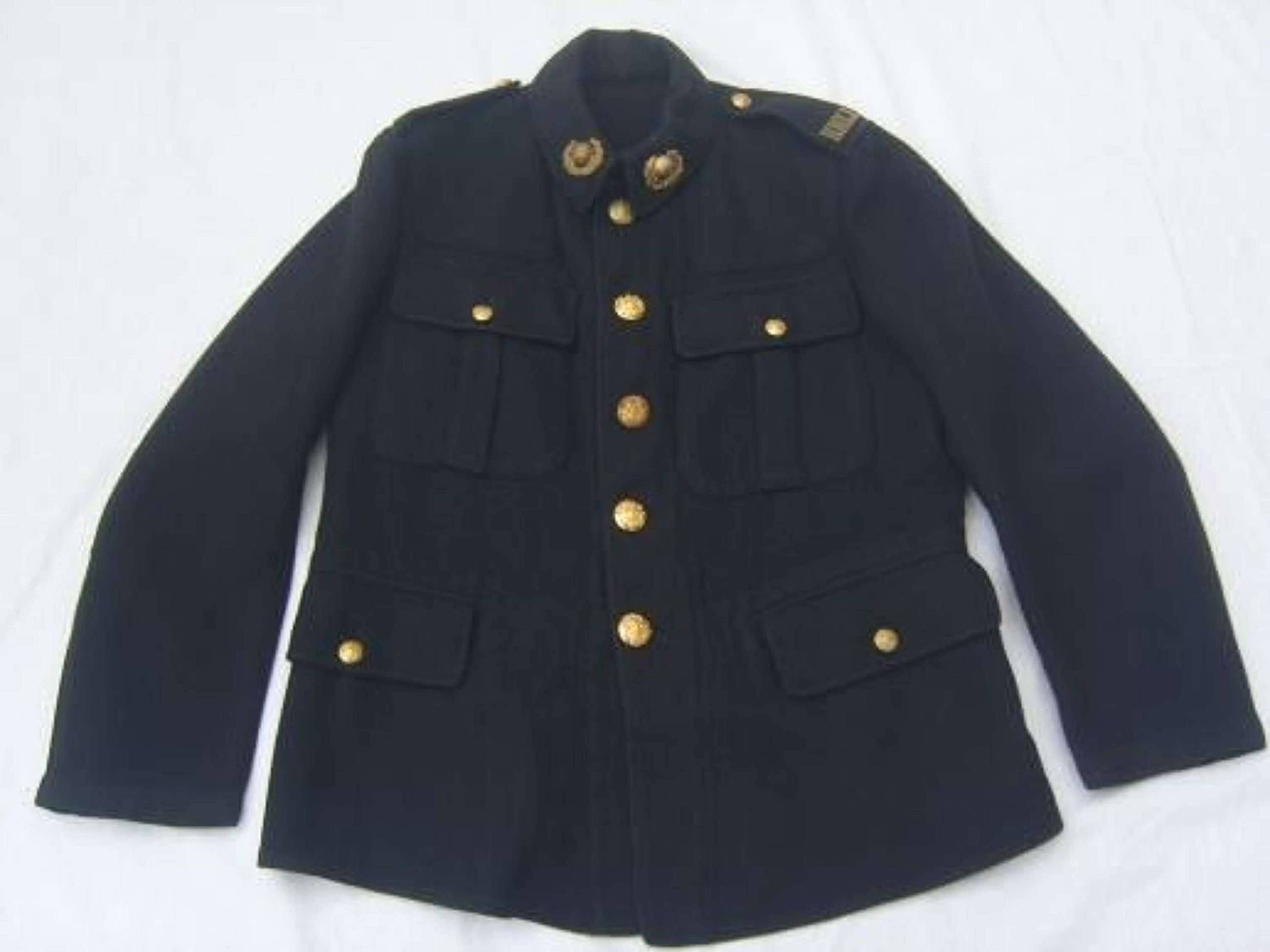 1902 PATTERN SERVICE DRESS TUNIC TO RMLI