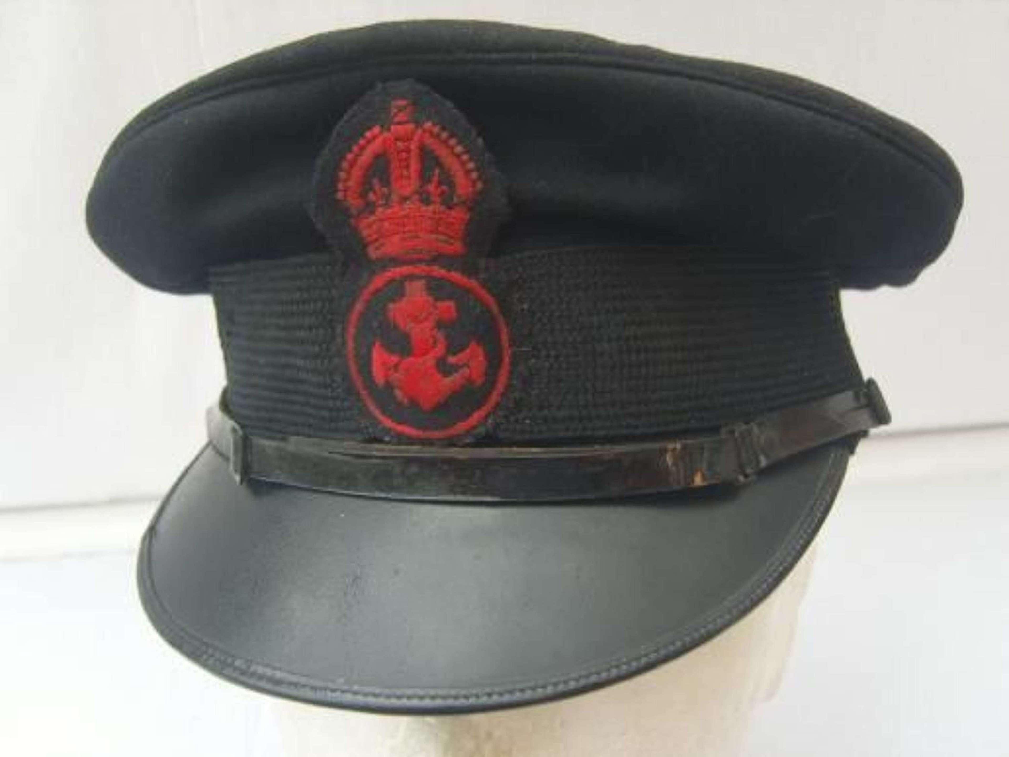 ROYAL NAVY PETTY OFFICERS PEAK CAP