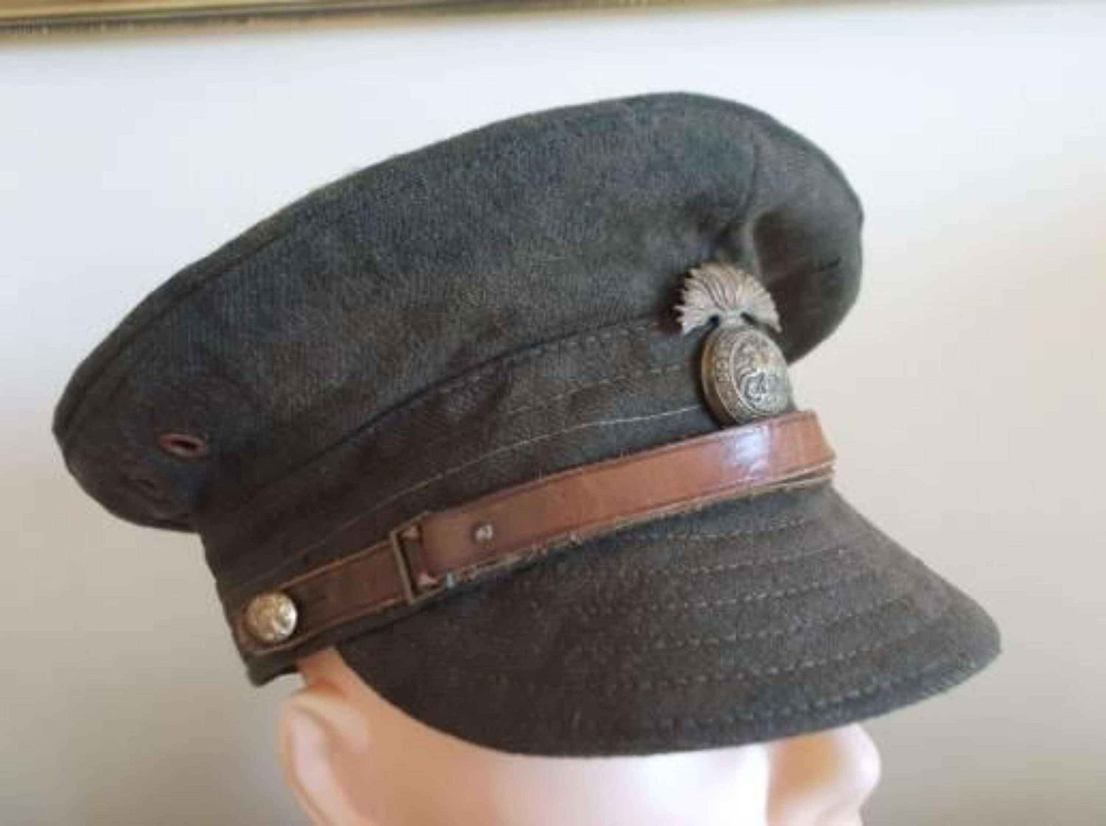 BRITISH WW1 OTHER RANKS WOOL TRENCH CAP