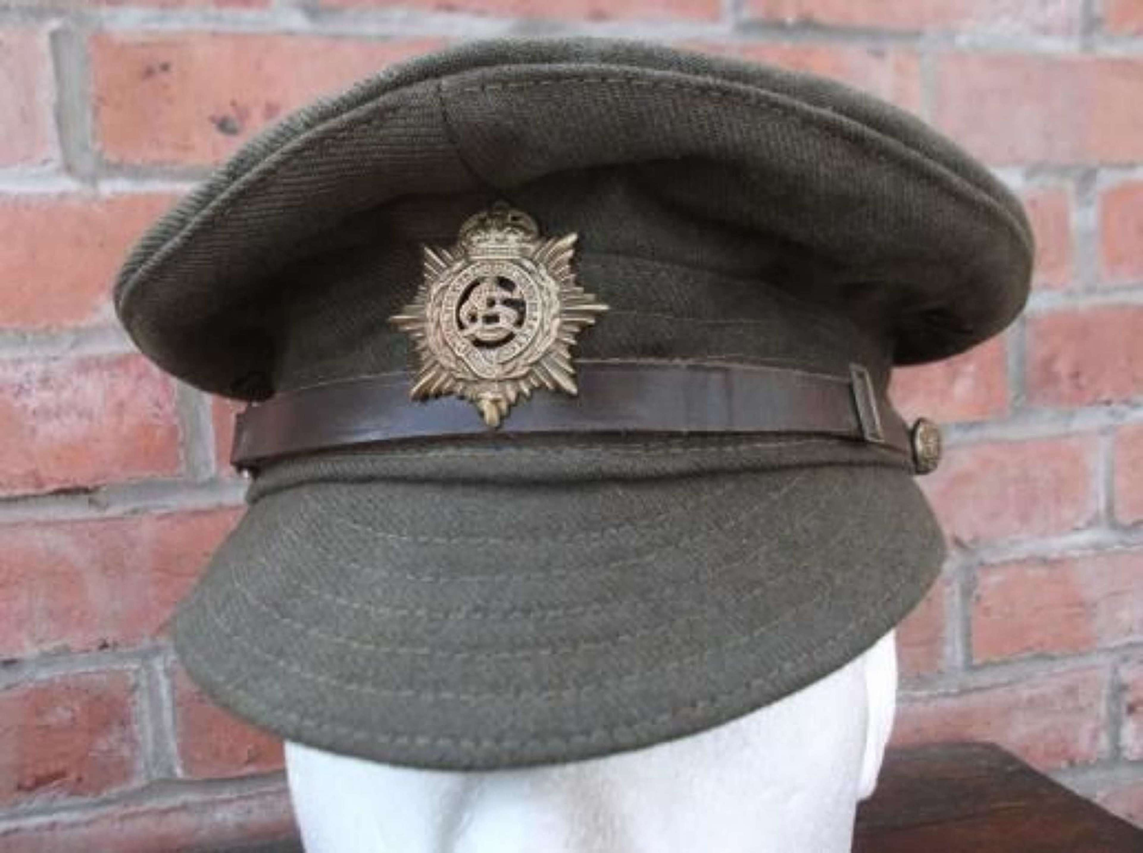 MINT CONDITION BRITISH WW1 OTHER RANKS WOOL TRENCH CAP ASC