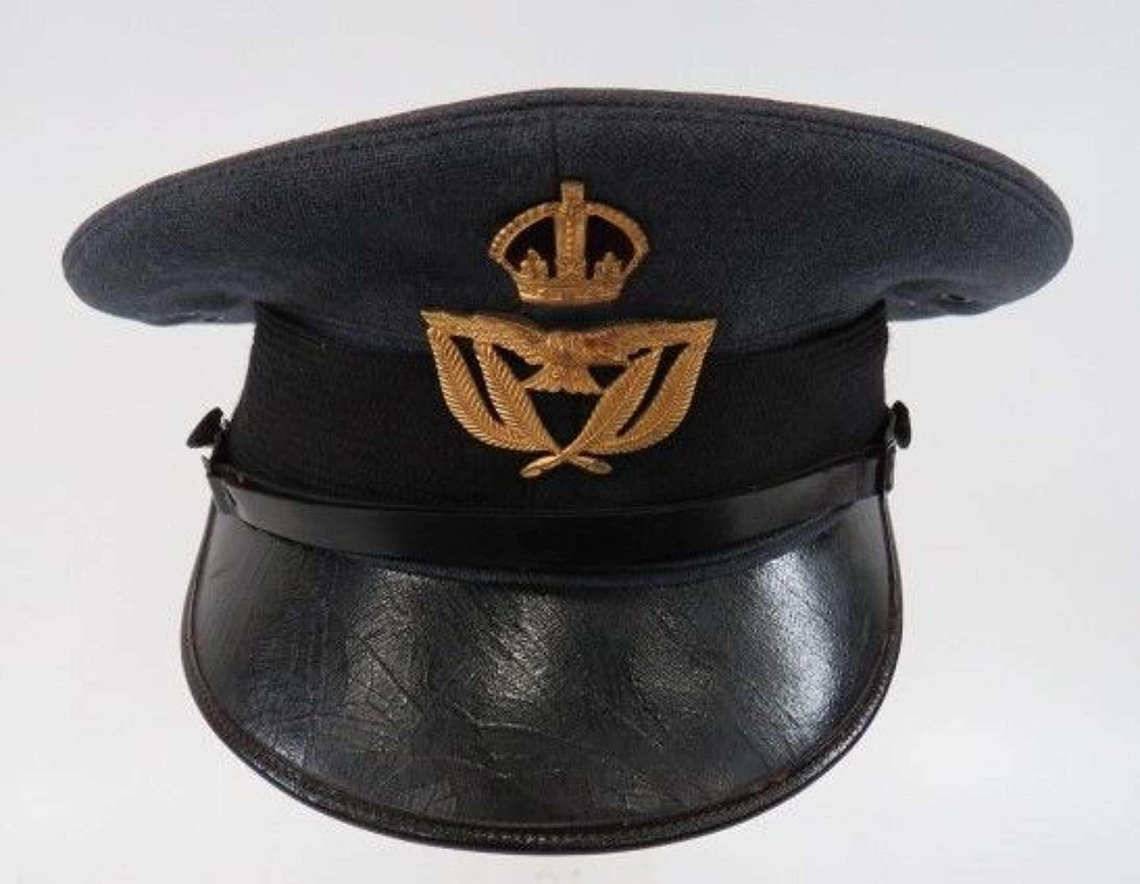 WW 2 Royal Air Force Warrant Officer Service Dress Cap