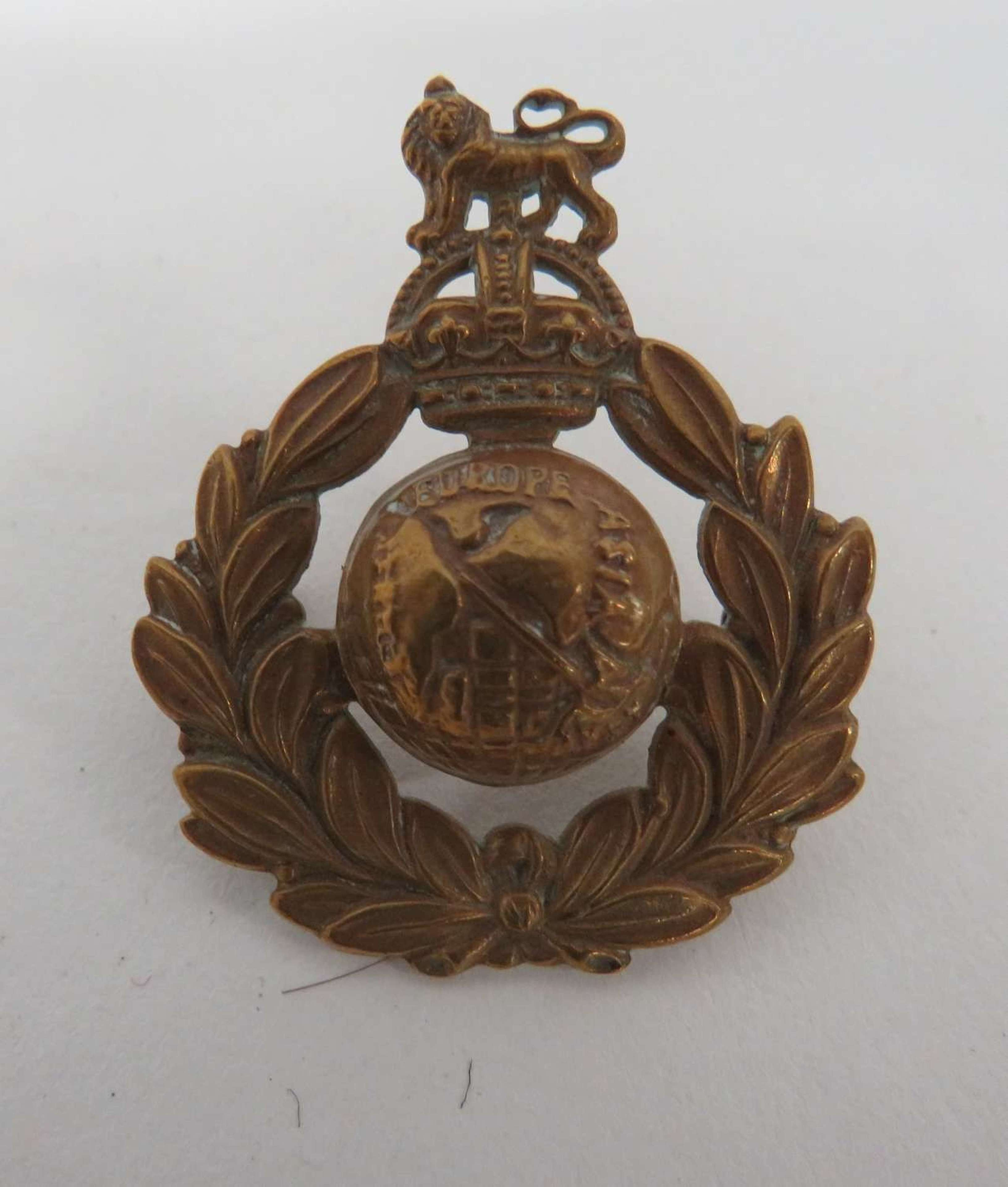 Pre 1953 Royal Marines Beret Badge
