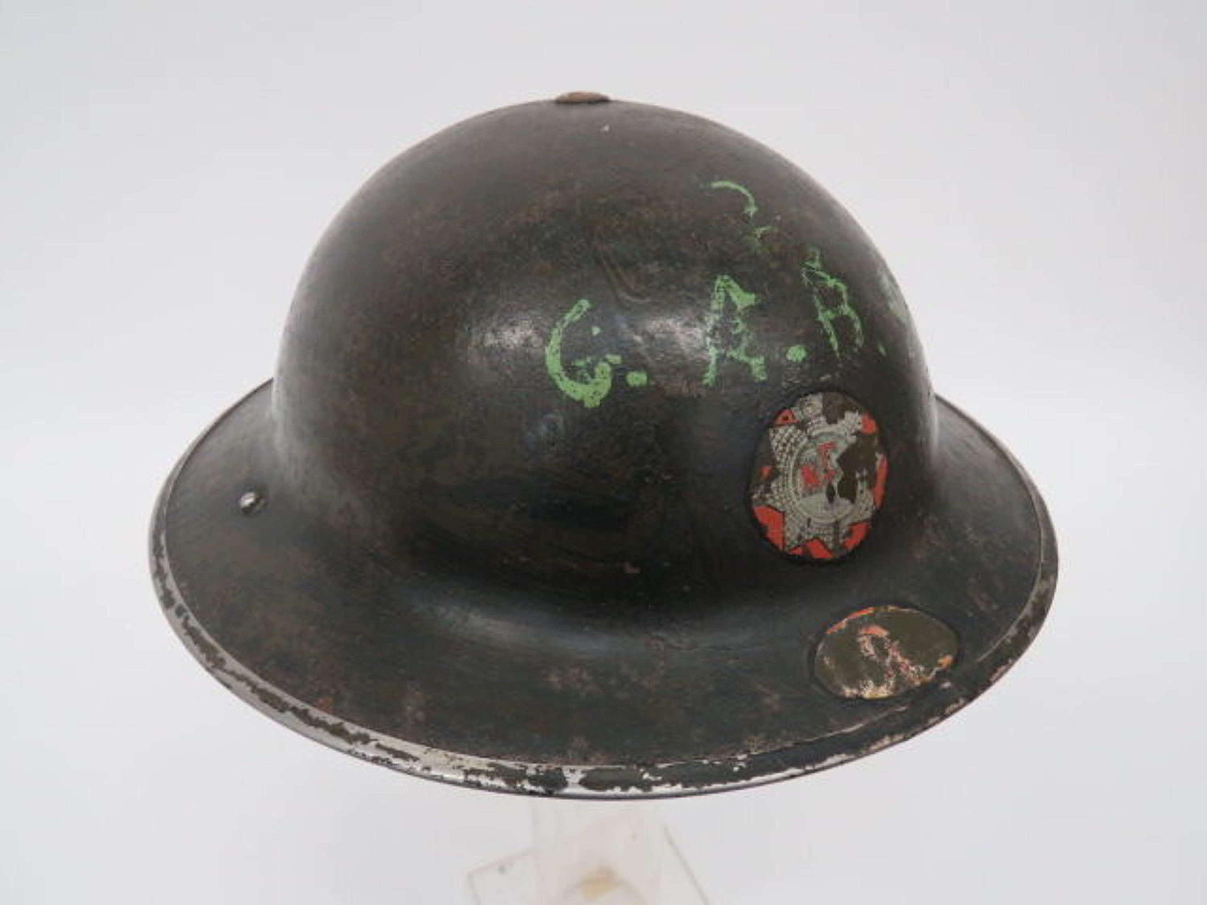Early War National Fire Service Steel Helmet