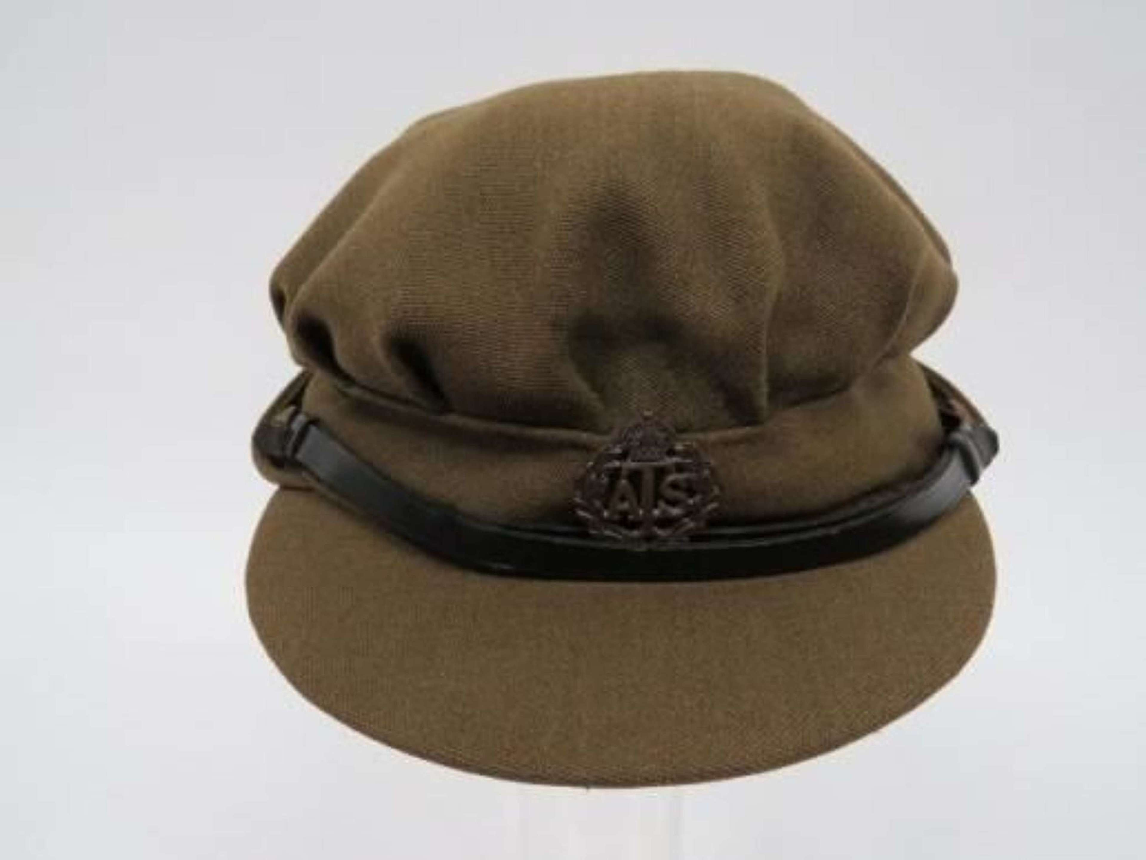WW2 A.T.S Officers Service Dress Cap