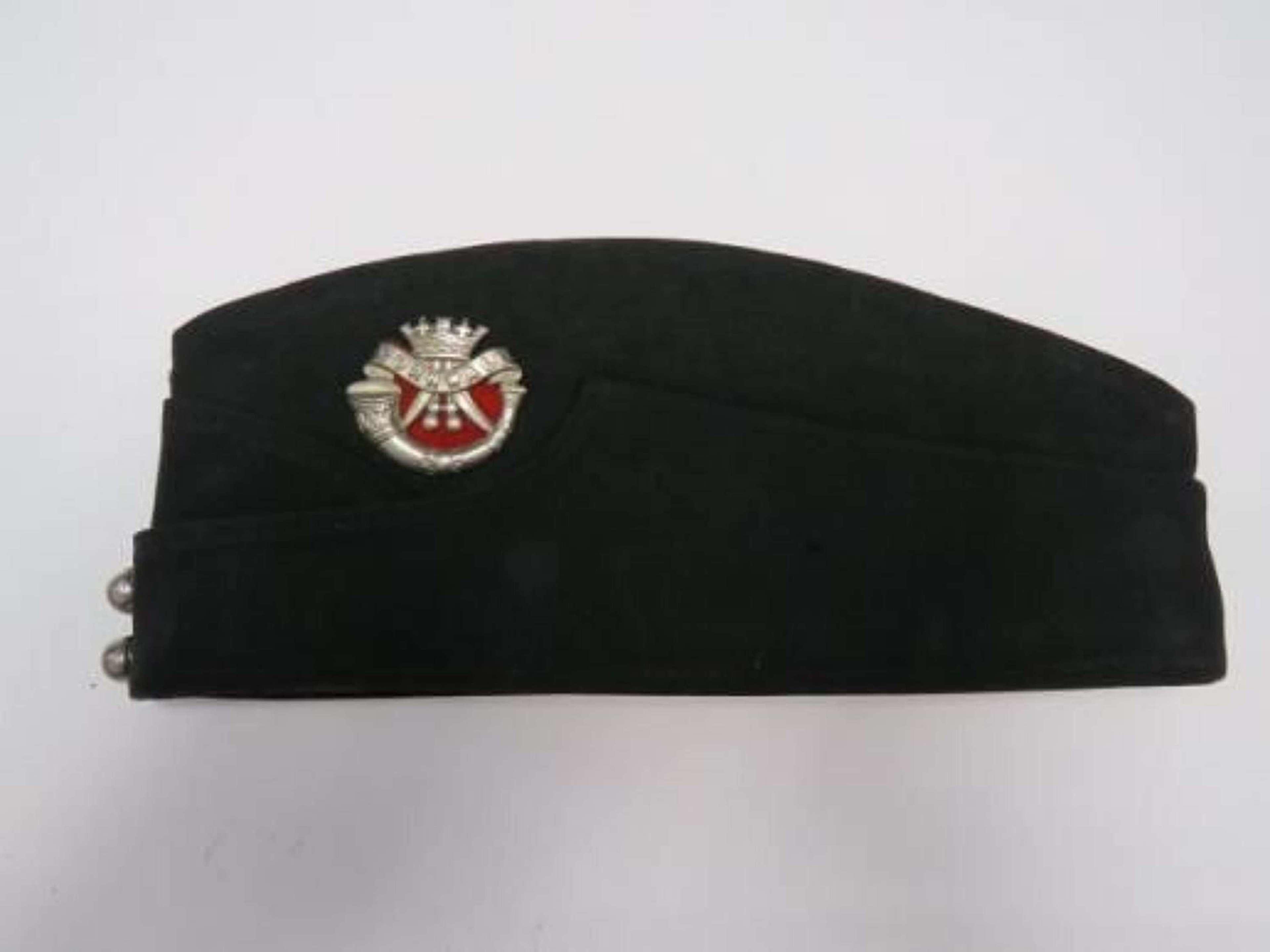 WW2 Cornwall Light Infantry Coloured Field Service Cap