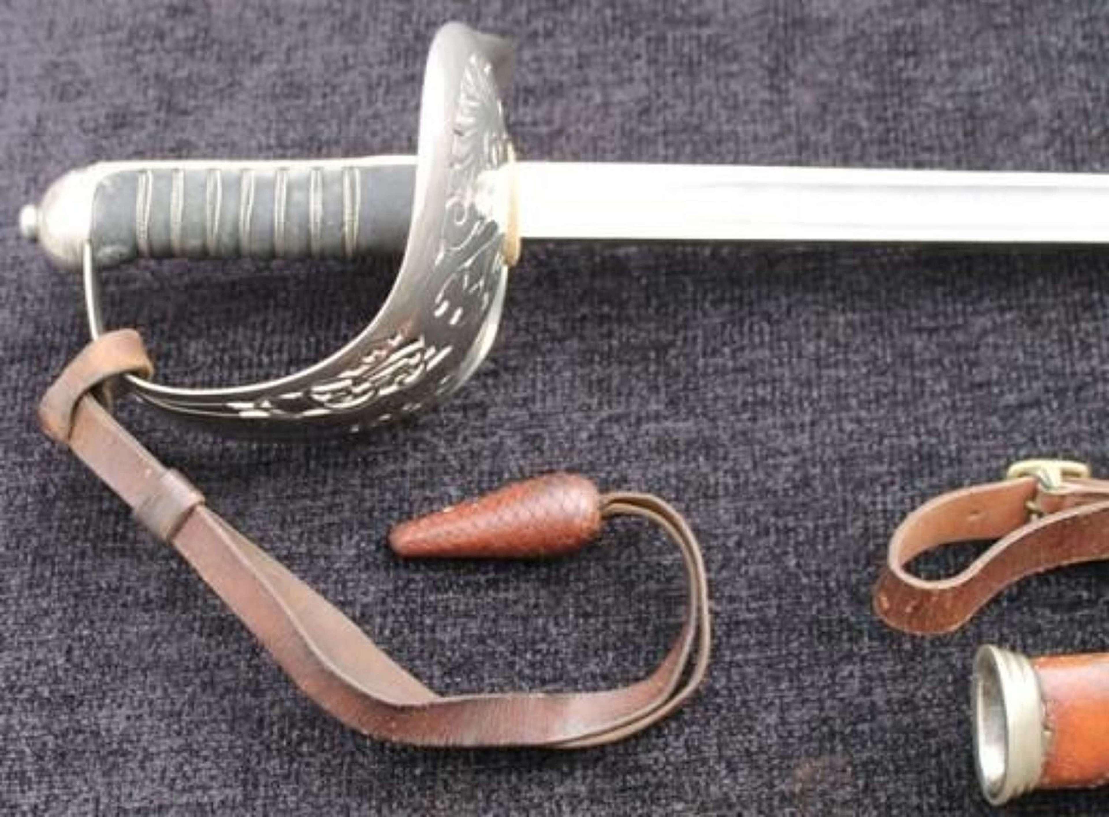 1897 Pattern Presentation Officers Sword
