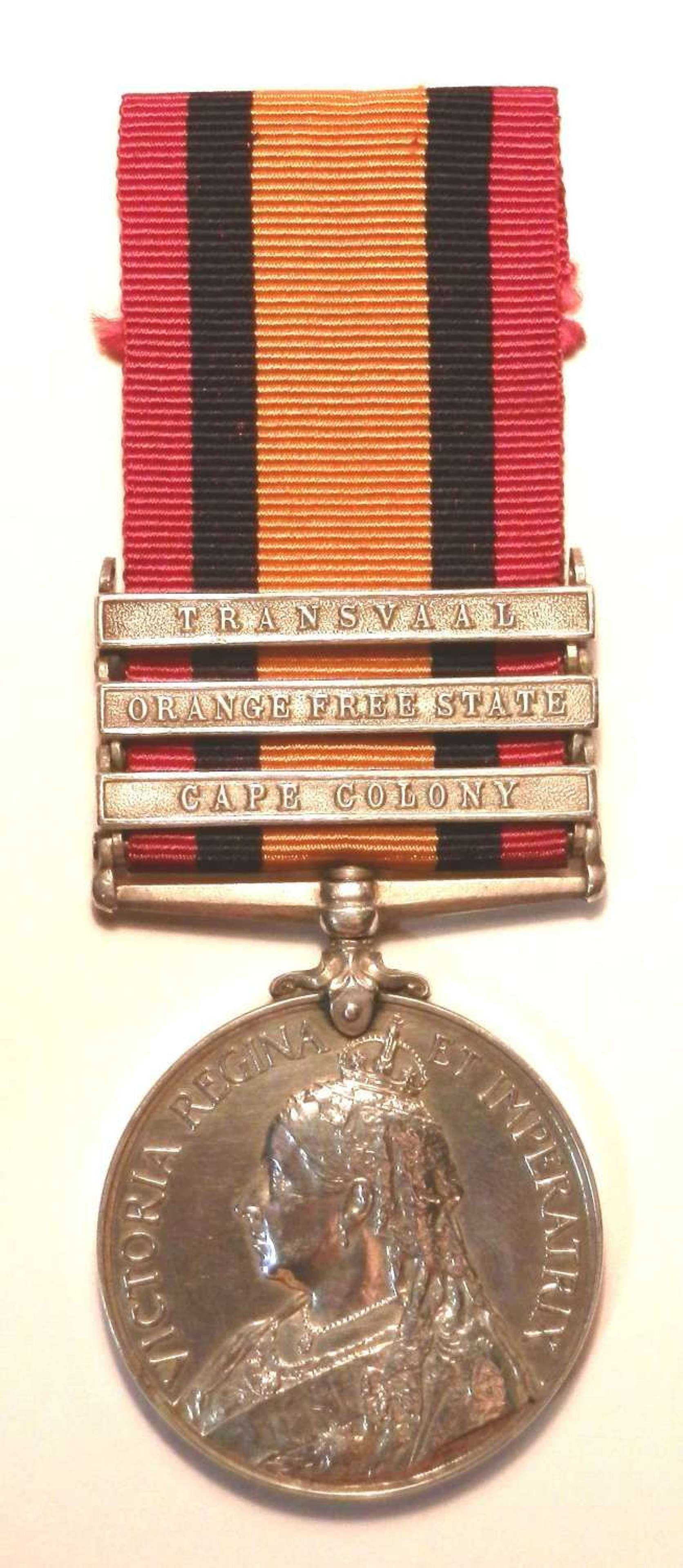 Queen South Africa. Pte Thomas Gelson, 2/Bn, Northumberland Fusiliers