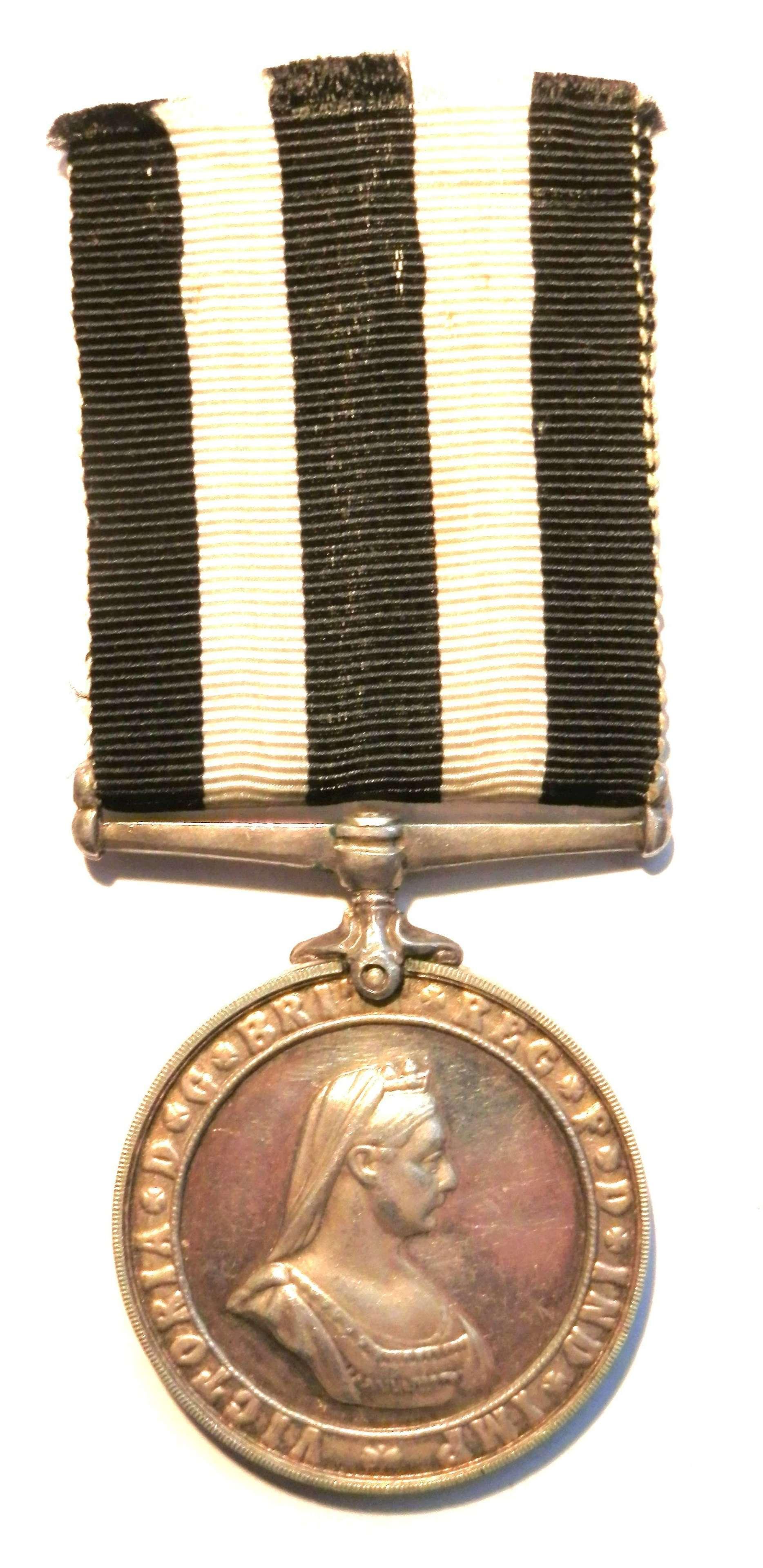 Service Medal Order of St Johns. D/Supt. E. G. Rogers.