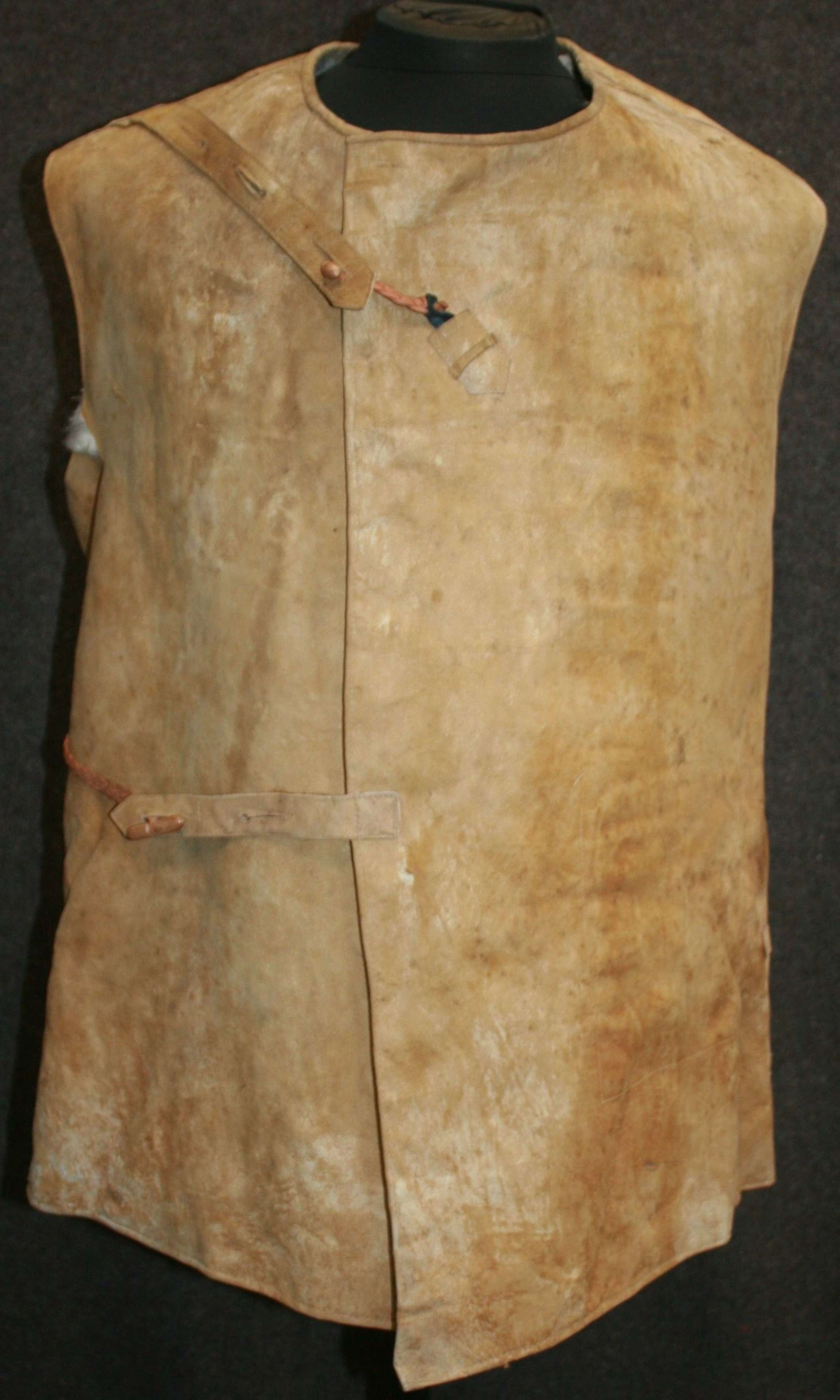 A WWI PERIOD RAF / RFC PATTERN OVER JACKET AND CAP