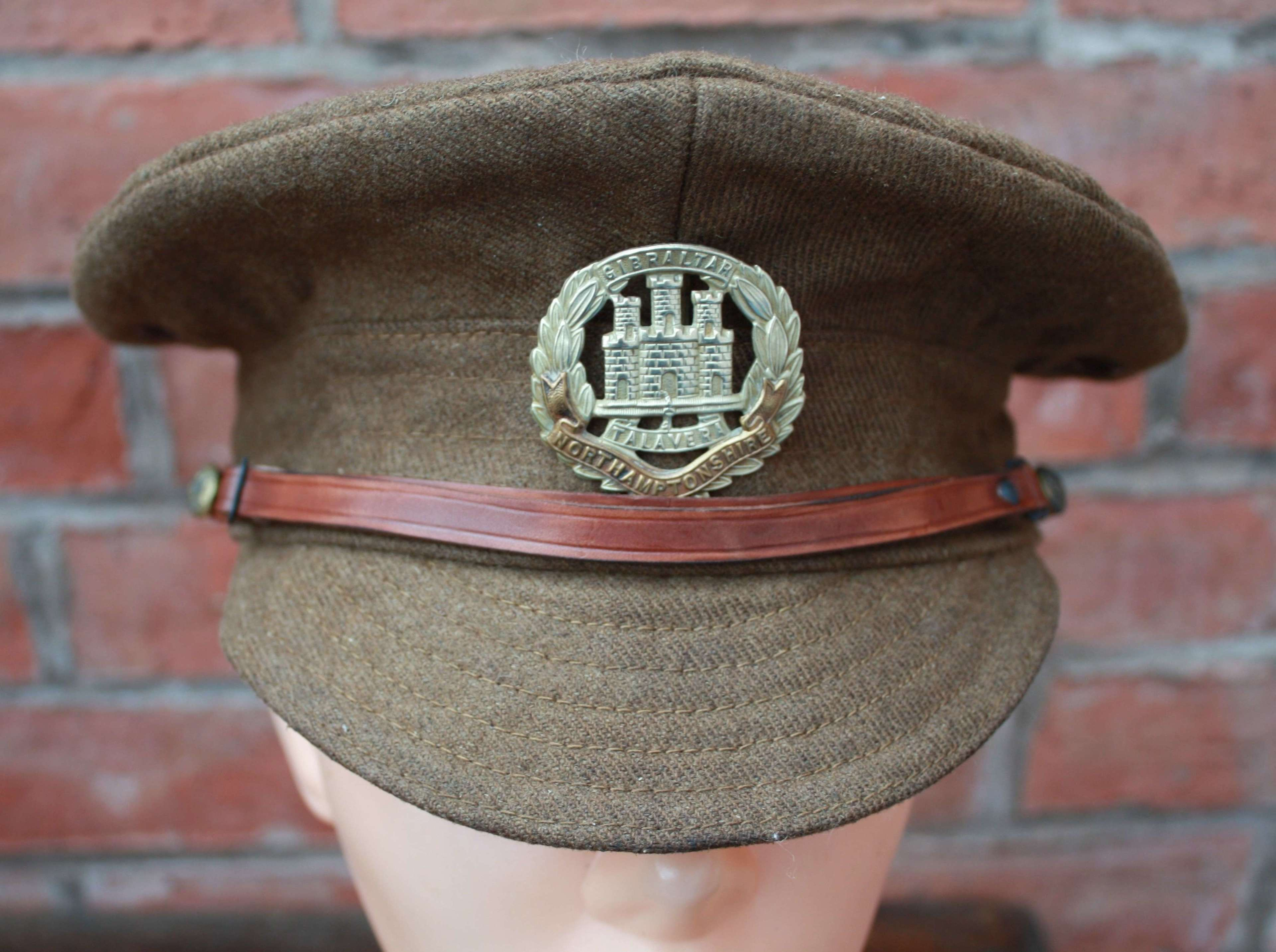 BRITISH WW1 OTHER RANKS WOOL TRENCH CAP.