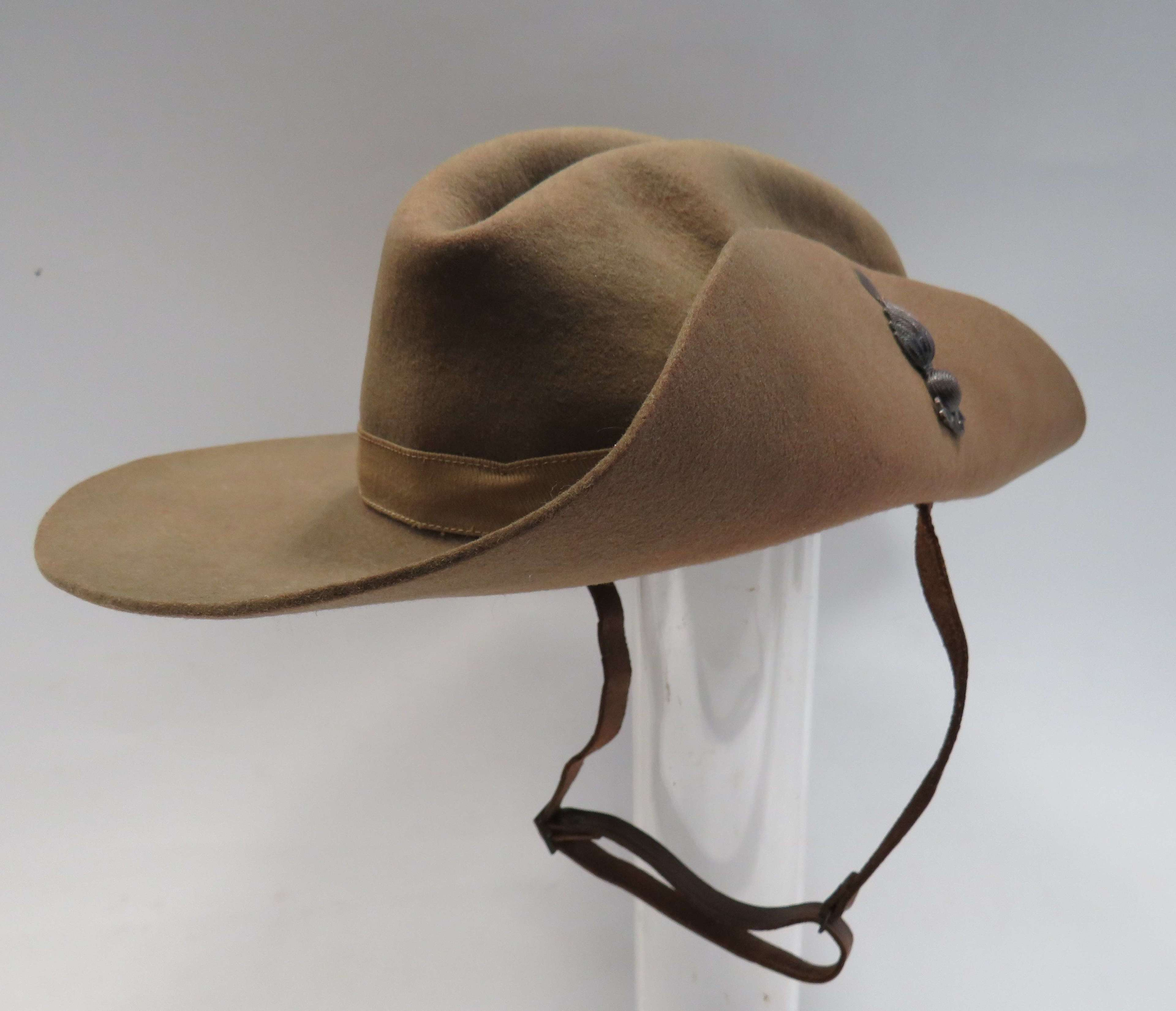 1943 Dated Royal Engineers Bush/Slouch Hat