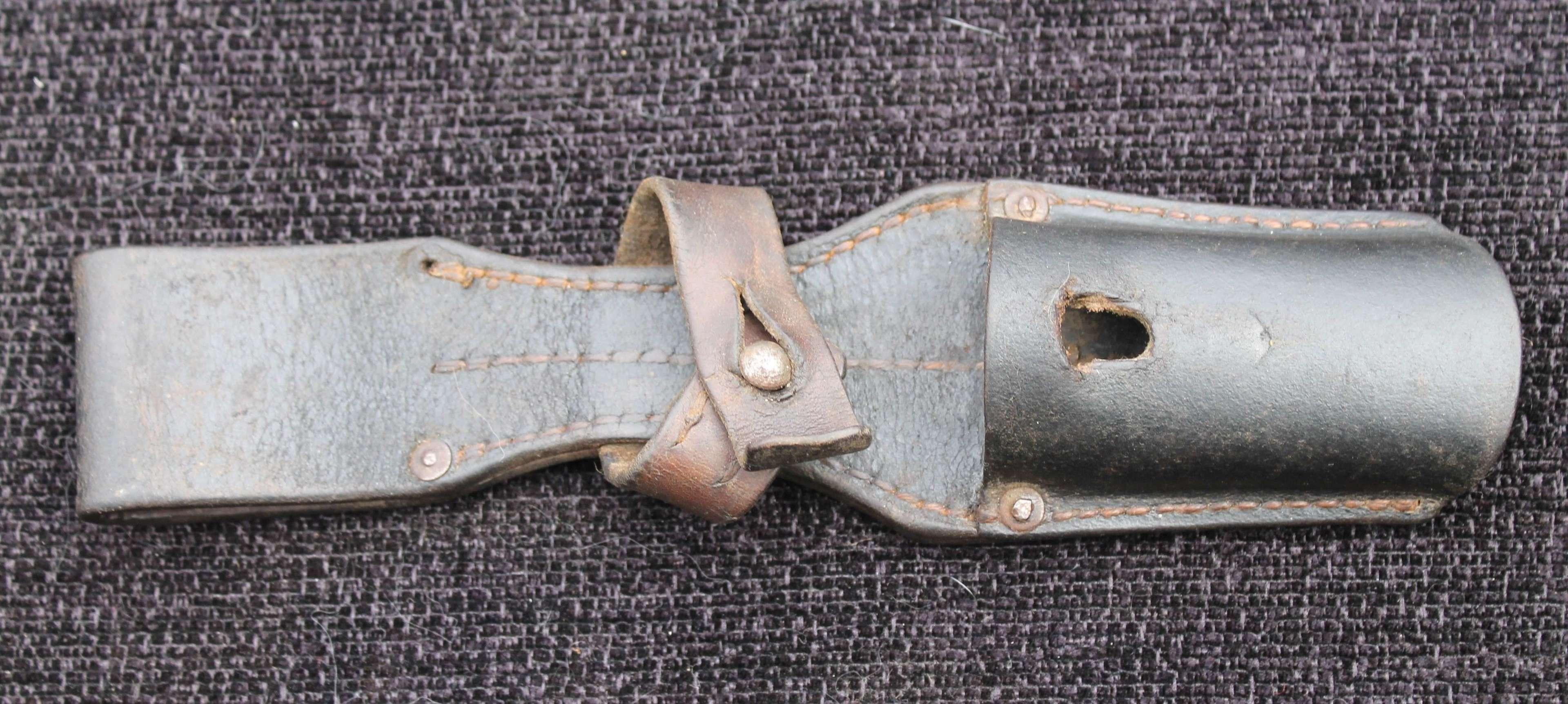 Leather K98 Bayonet Frog (B)