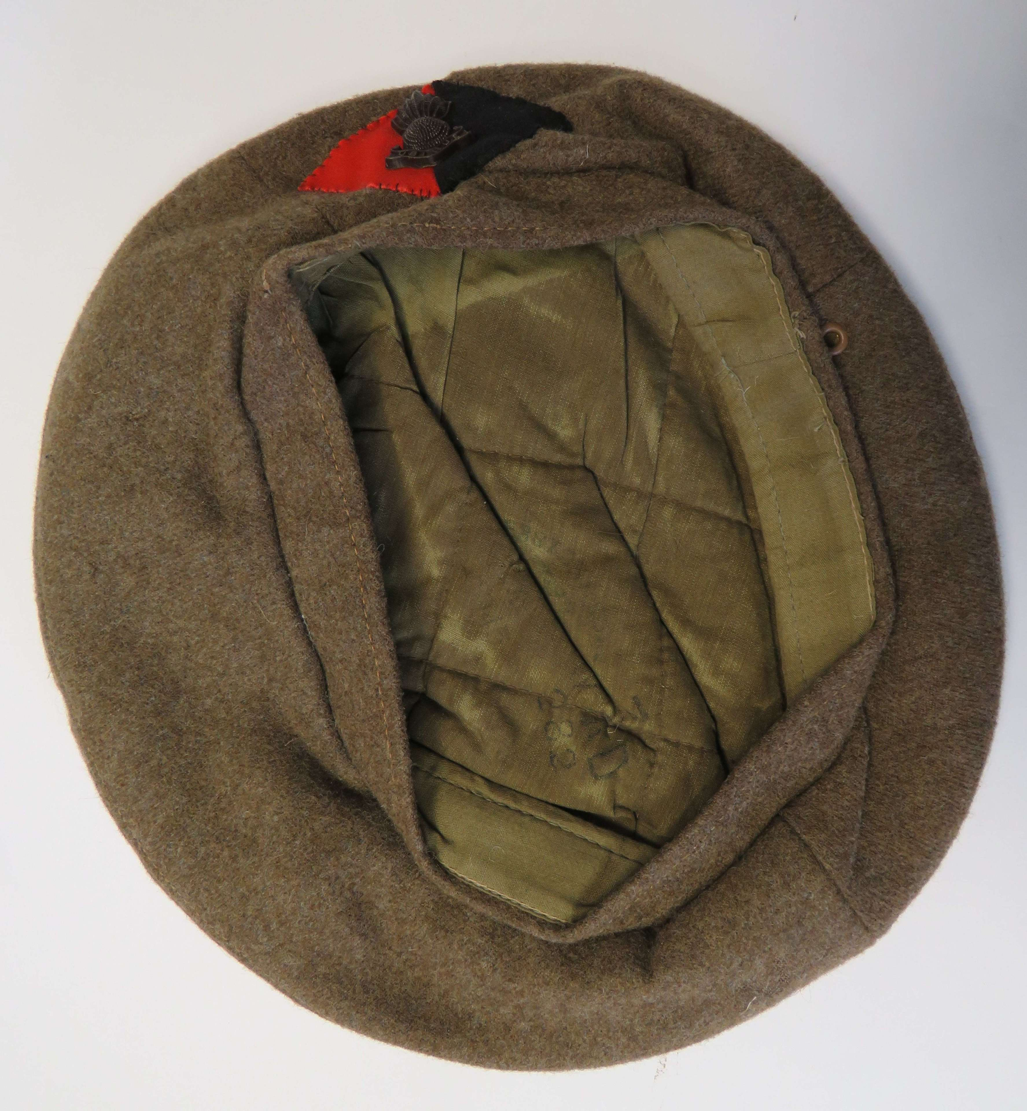 Scarce WW 2 Dated Royal Artillery General Service Cap