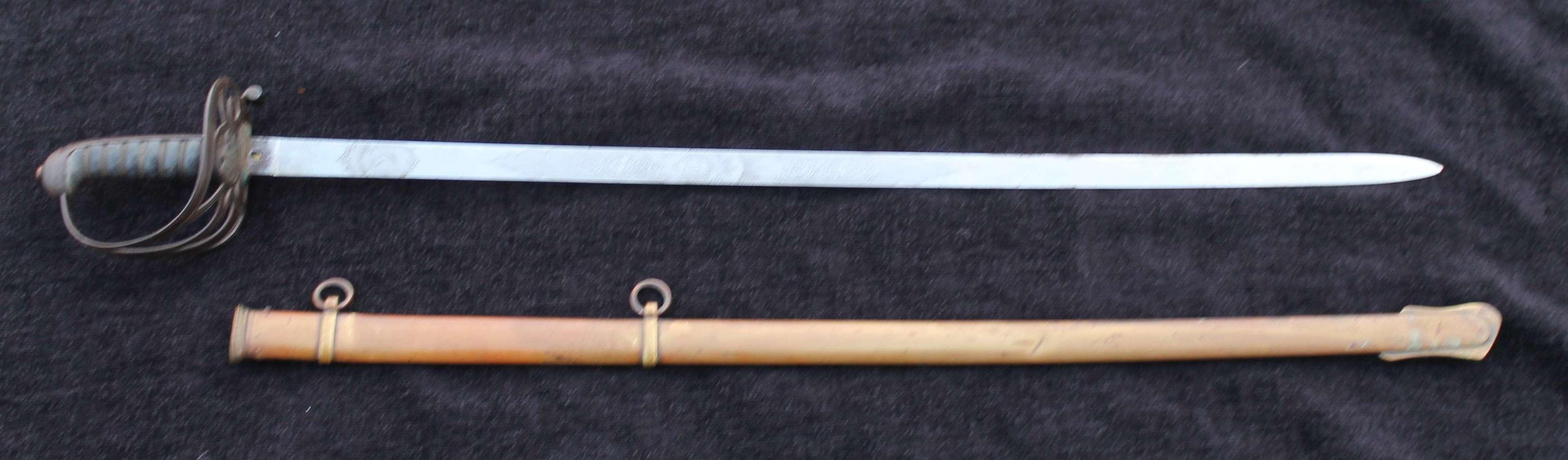 Special Pattern Steel Hilted Wilkinson Officers Sword