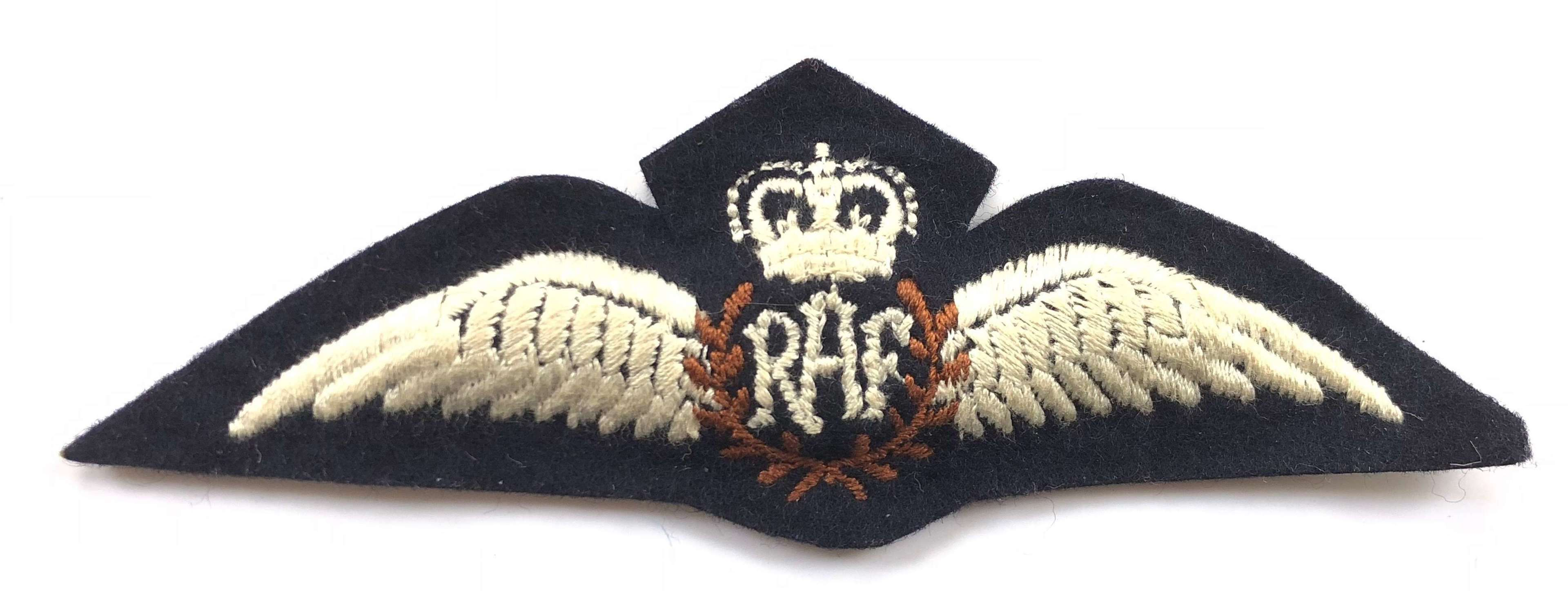 RAF Brevet Wings Embroidered Beanie Hat