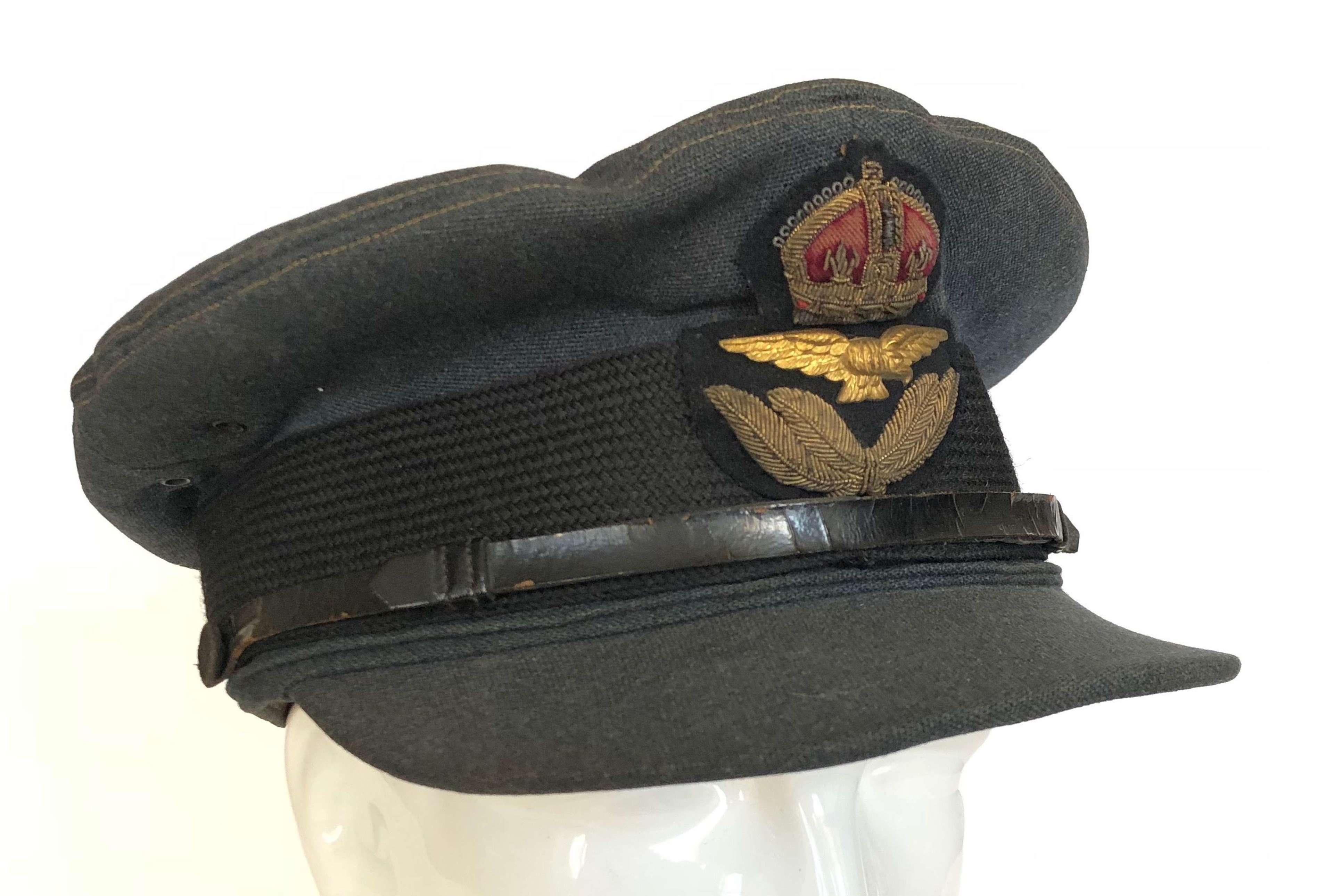 WW2 RAF Officer's Cap.