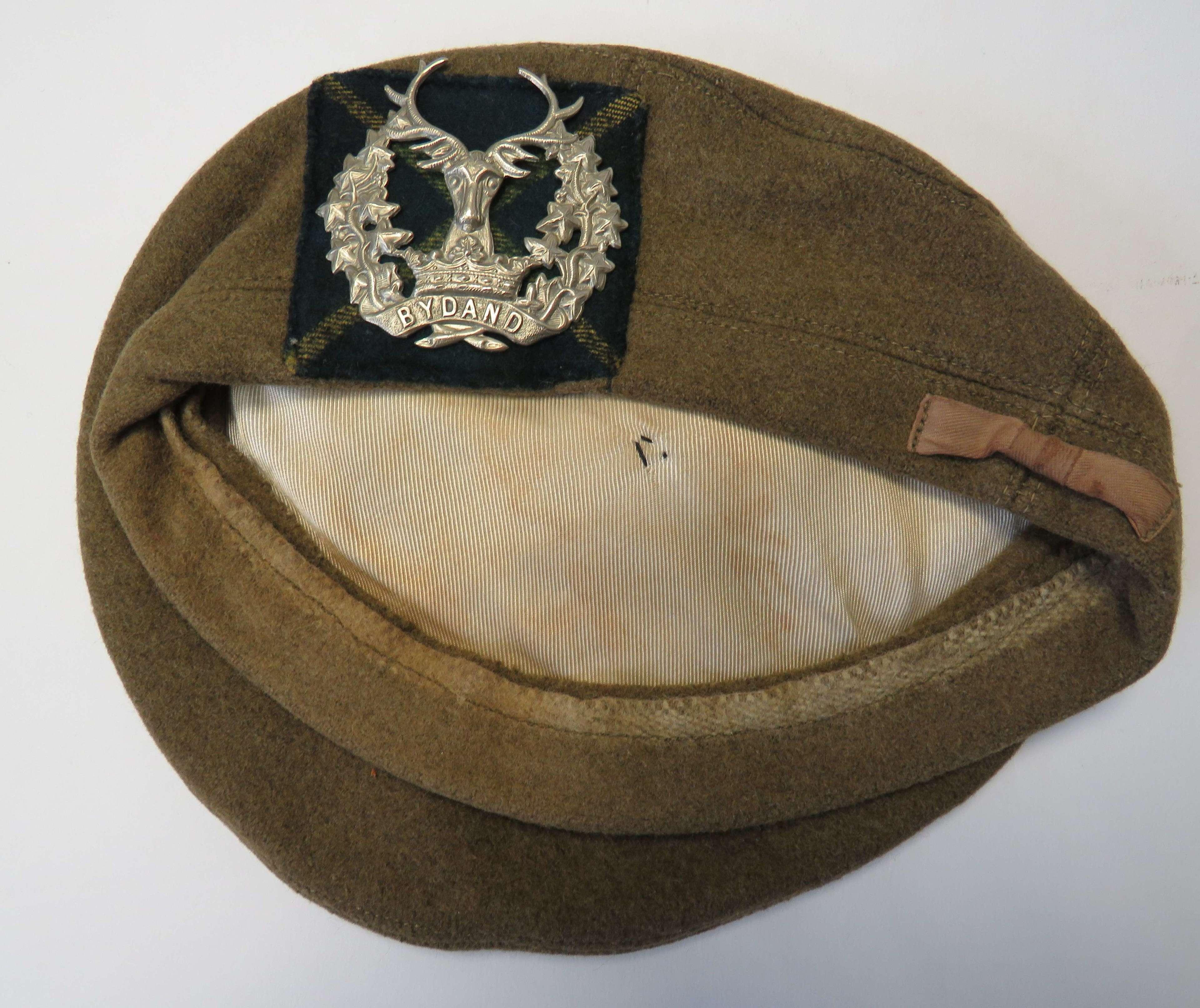 Post War Gordon Highlanders Tam O Shanta