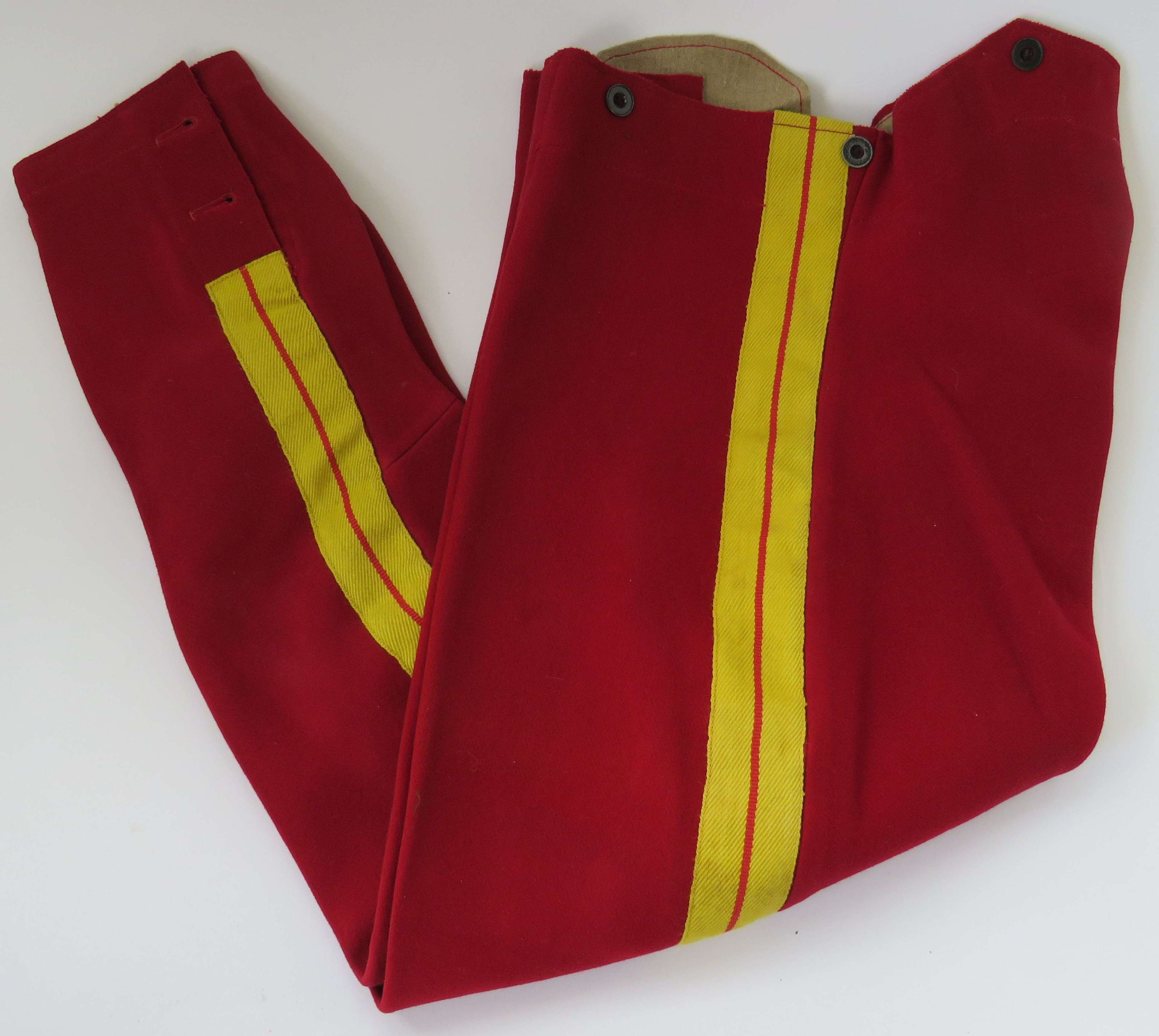 Pair of Pre 1914 11th Hussars Breeches