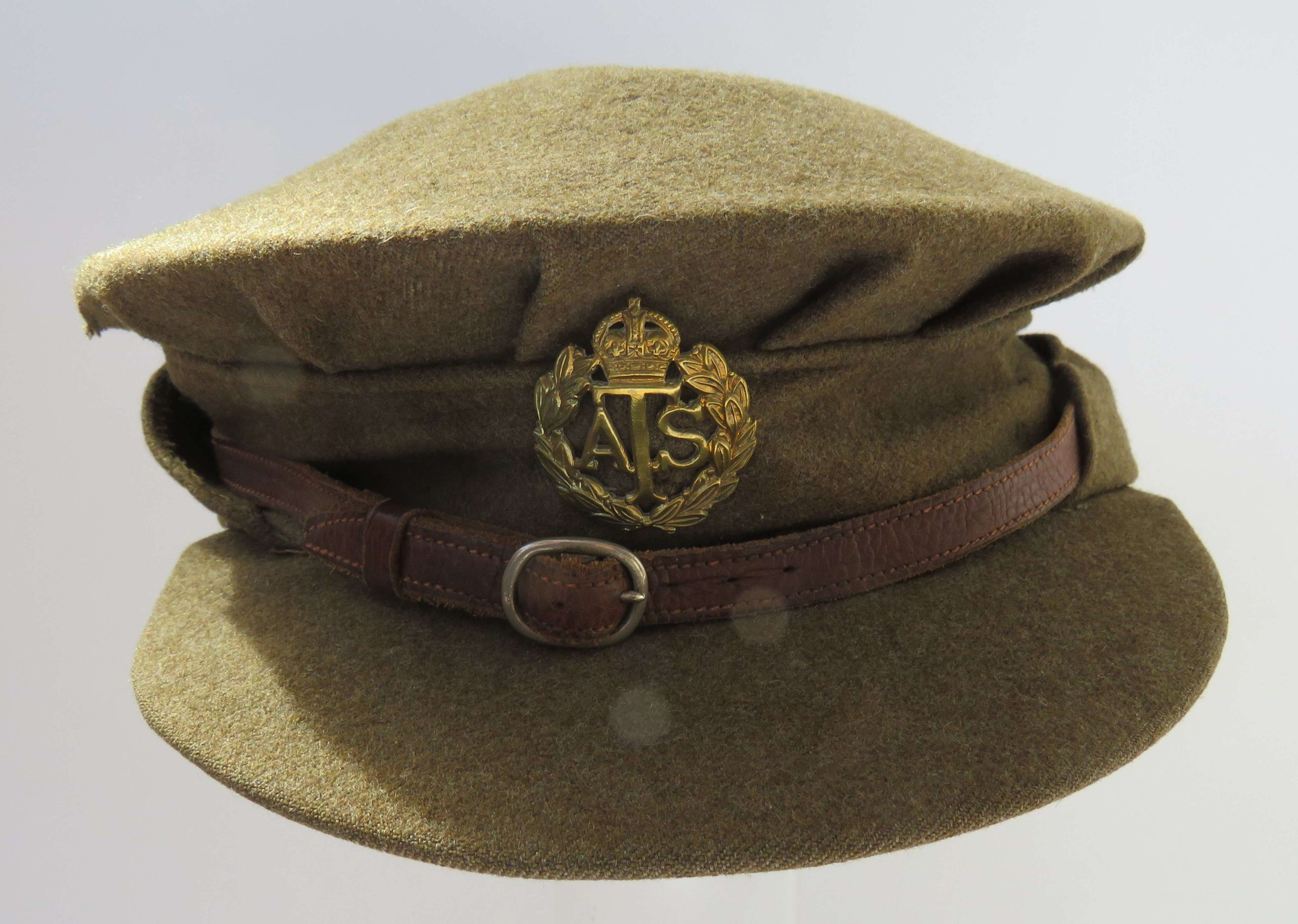 1940 Code Dated A.T.S  O.Rs Cap