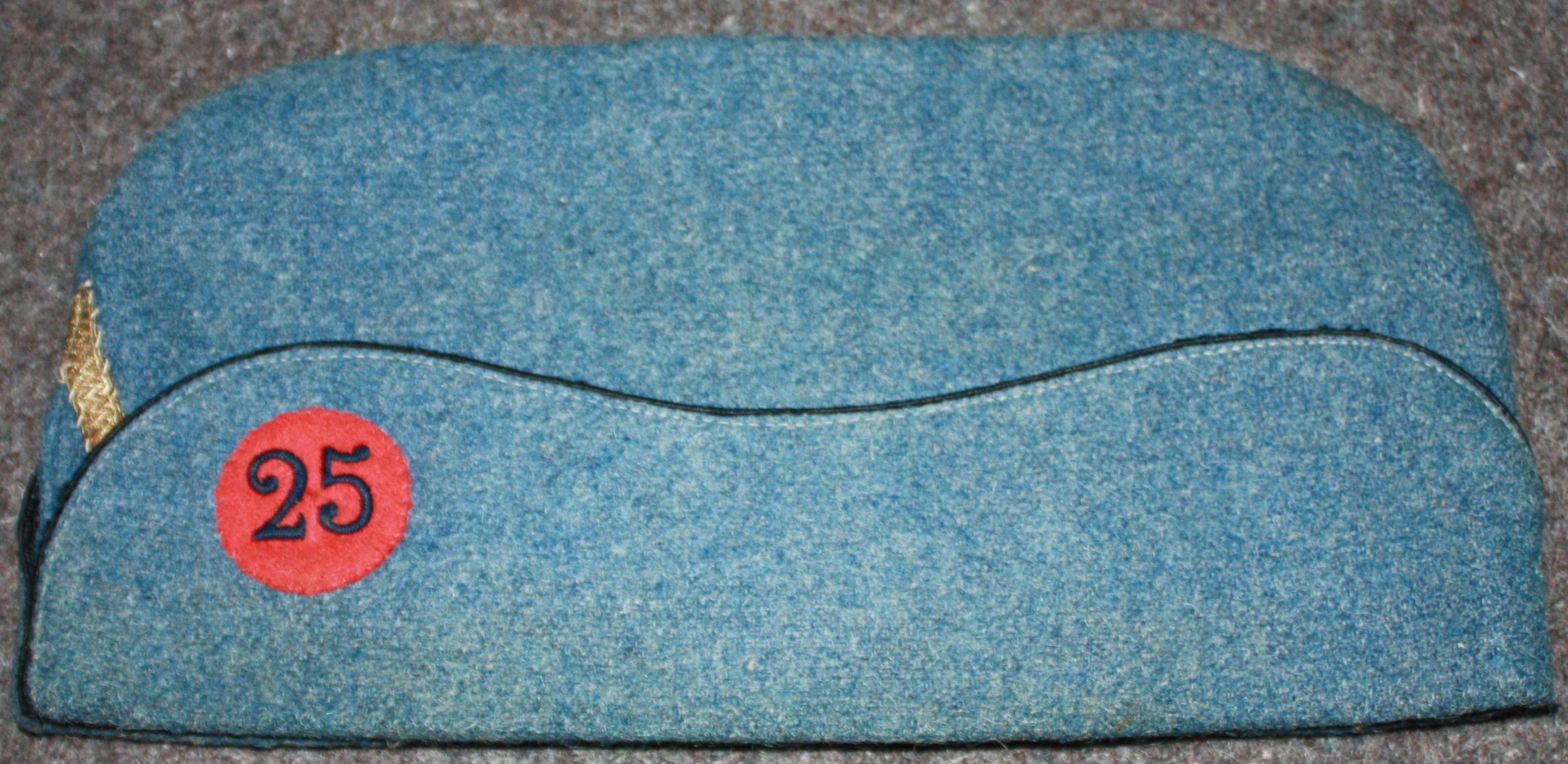 A FRENCH HORIZON BLUE OTHER RANKS SIDE CAP