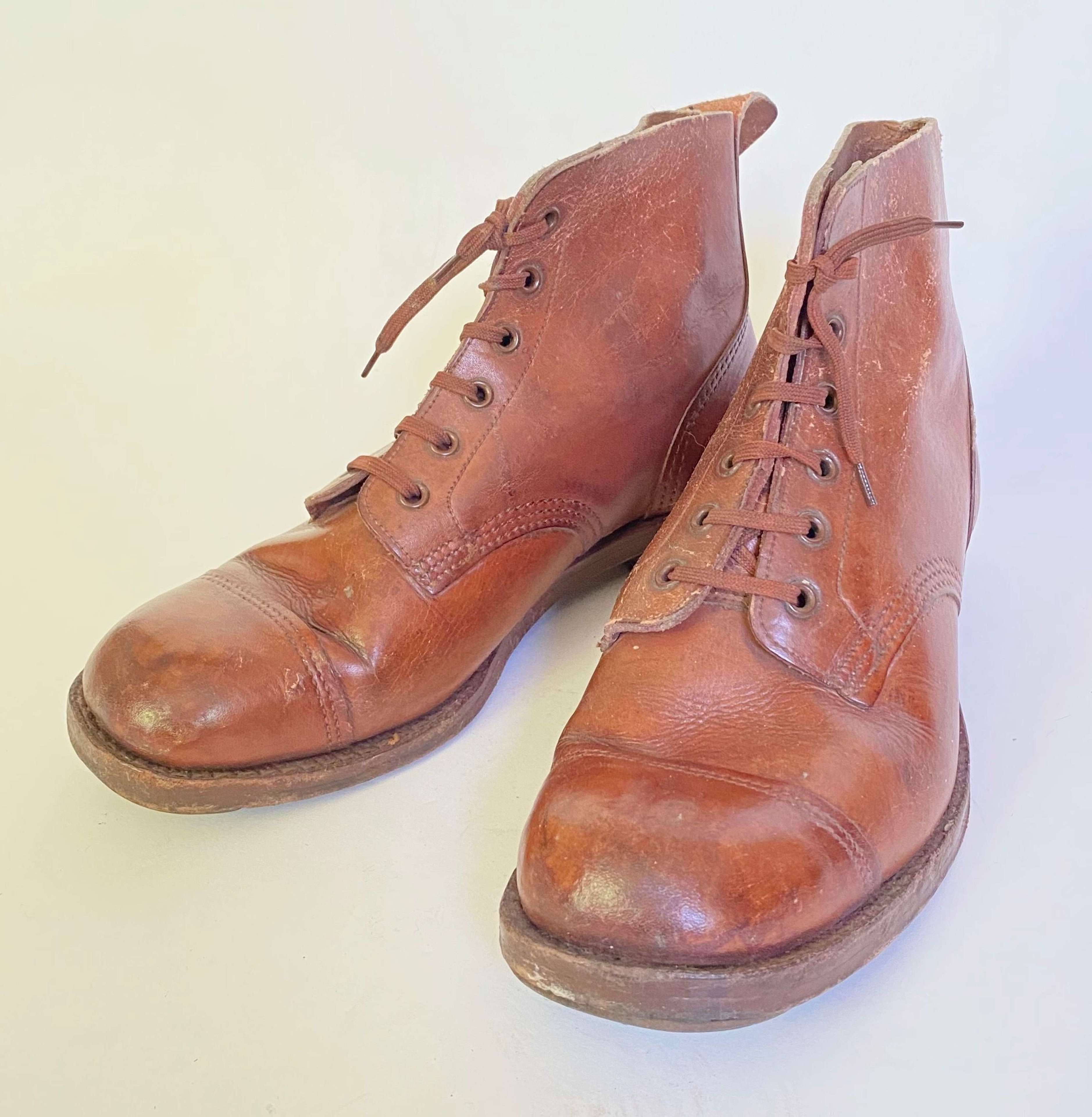 WW2 Period British Army Officer's Boots.