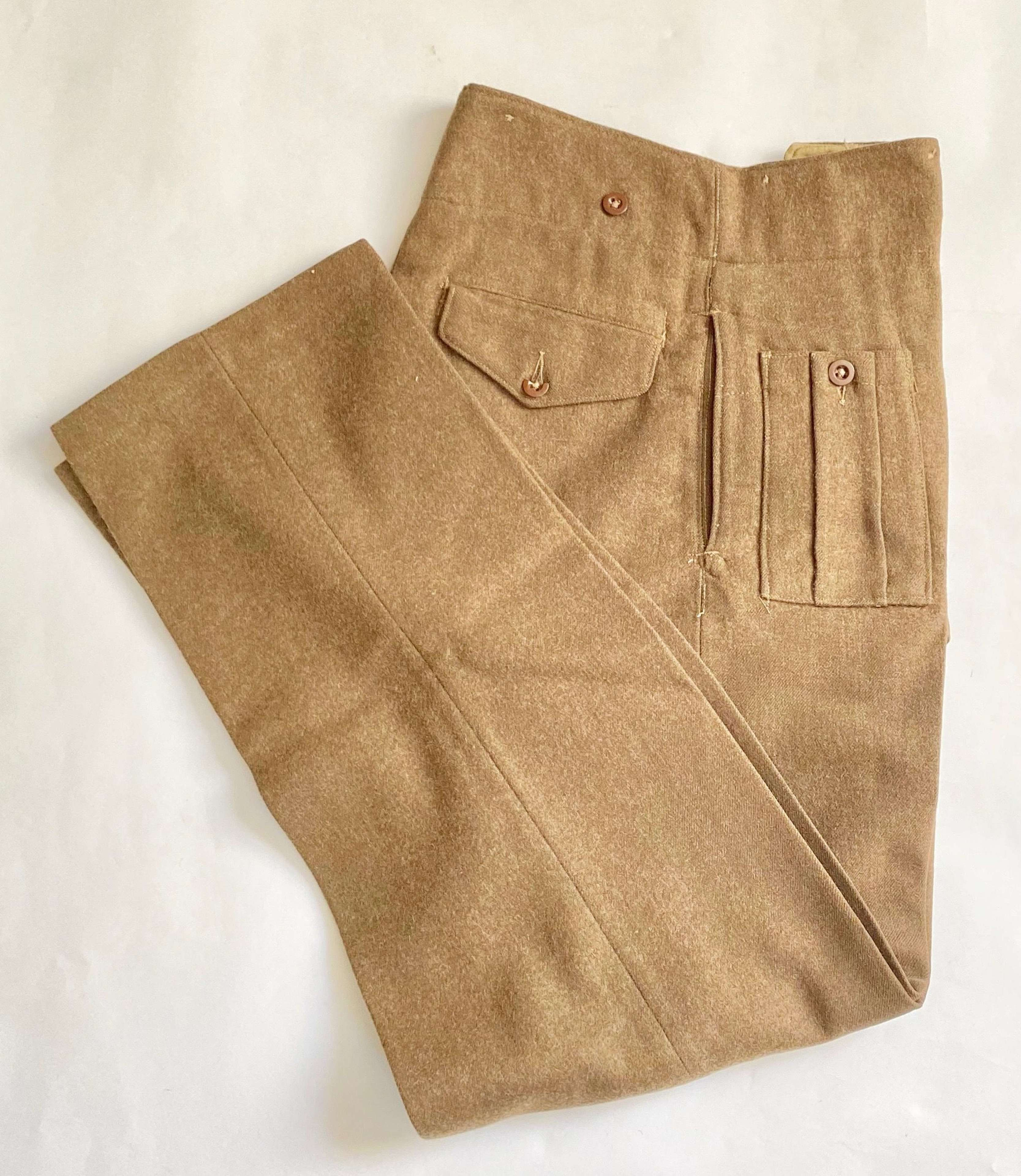 WW2 Large Size 1944 Coded Battledress Trousers.