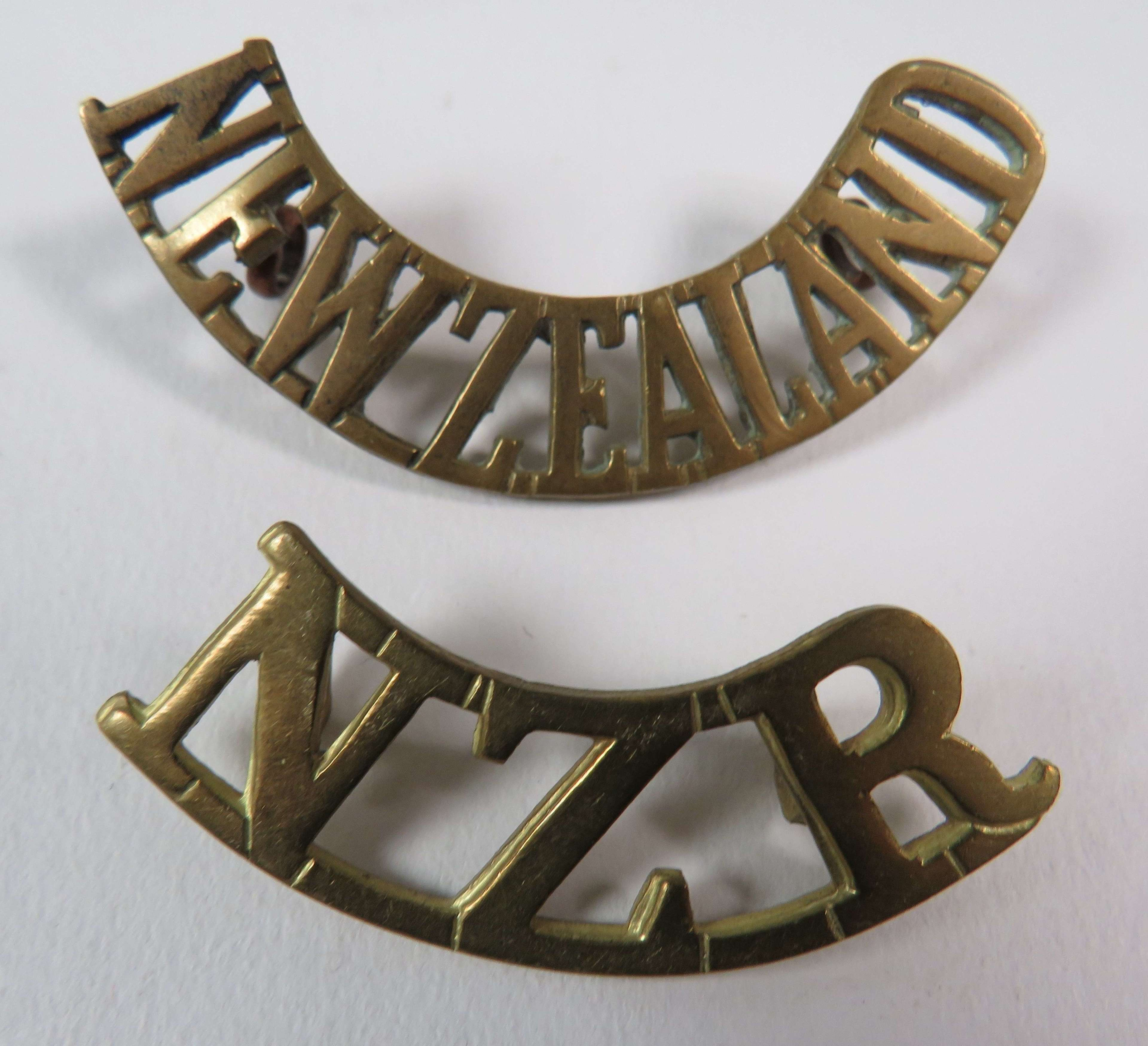 Two New Zealand Shoulder Titles
