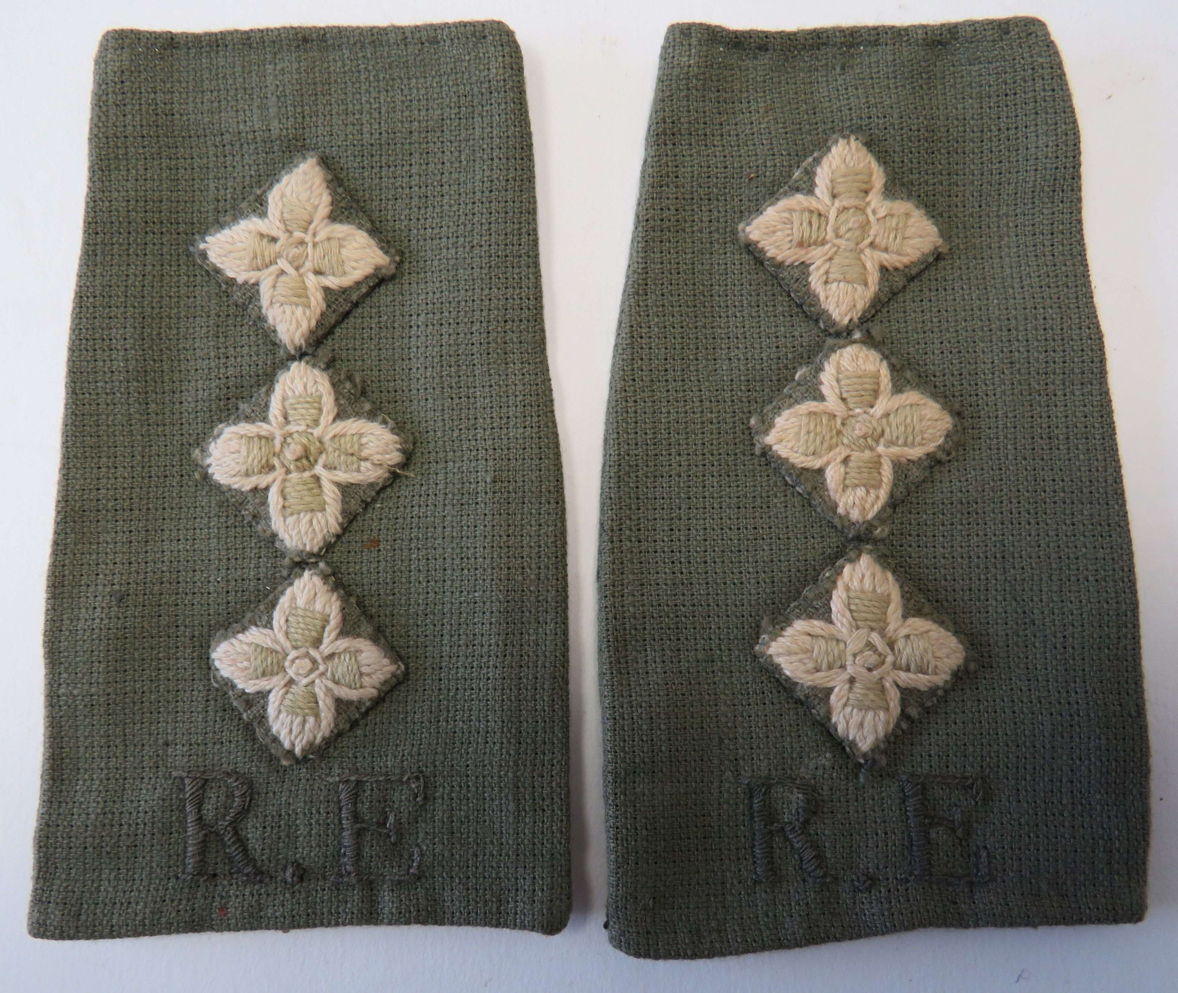 Royal Engineers Captains Tropical Slip on Straps